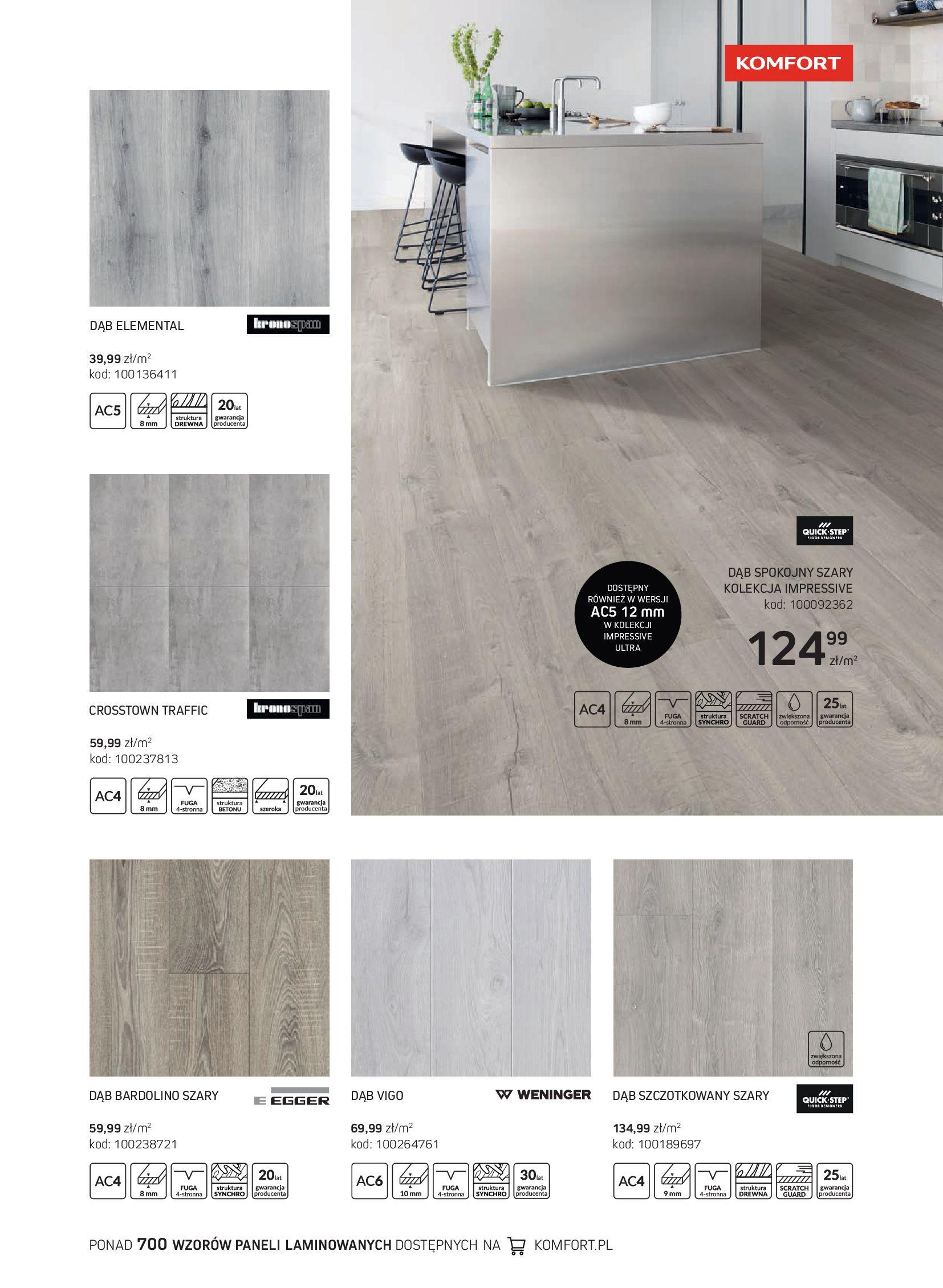 Gazetka Komfort: Gazetka Komfort - Katalog podłogi i drzwi 2021-06-16 page-27