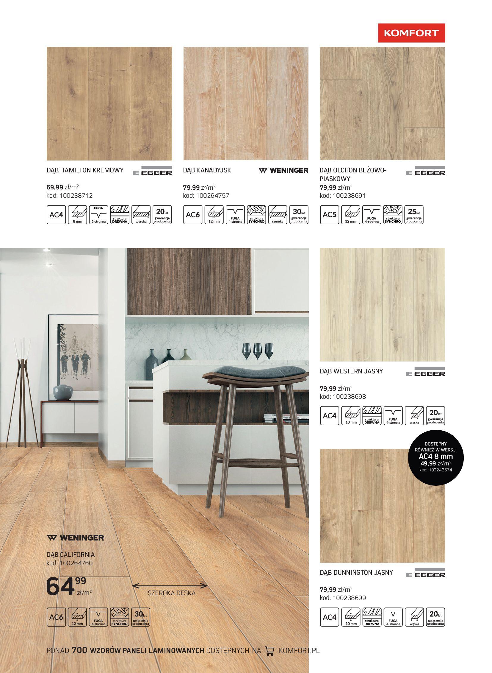 Gazetka Komfort: Gazetka Komfort - Katalog podłogi i drzwi 2021-06-16 page-29