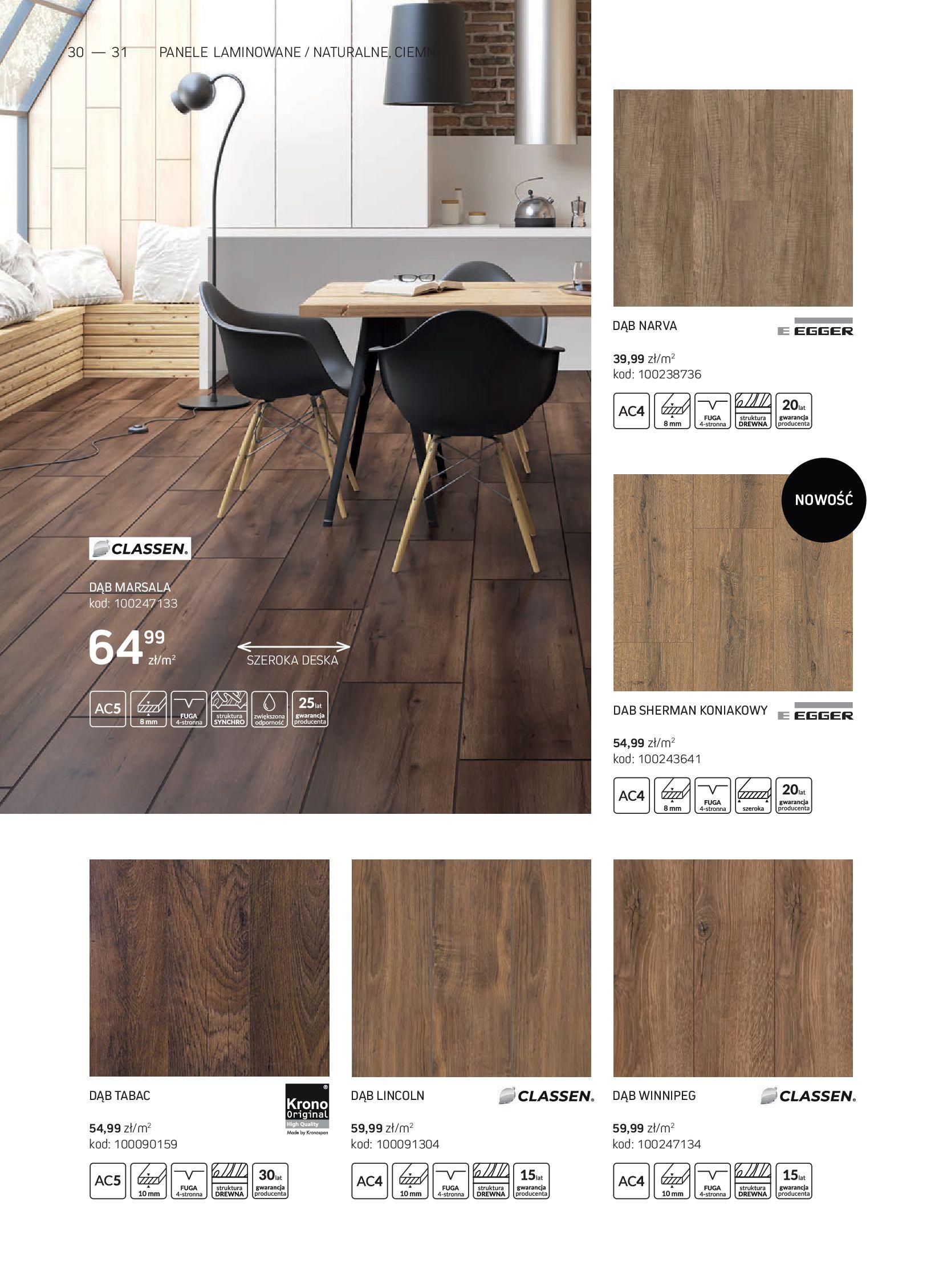 Gazetka Komfort: Gazetka Komfort - Katalog podłogi i drzwi 2021-06-16 page-30