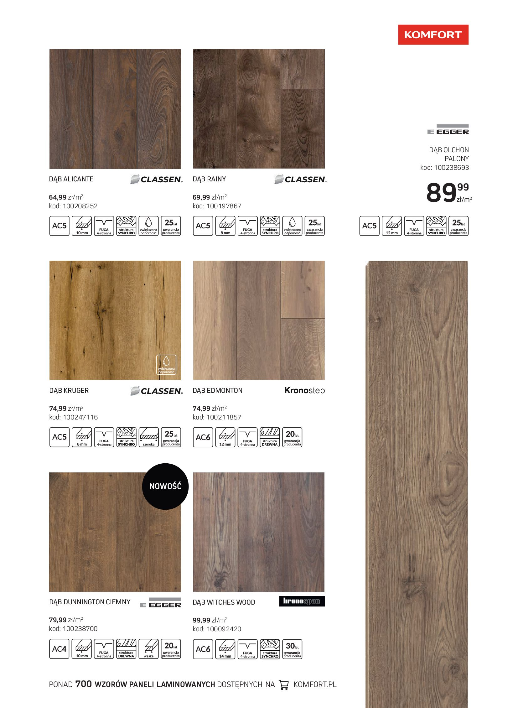 Gazetka Komfort: Gazetka Komfort - Katalog podłogi i drzwi 2021-06-16 page-31