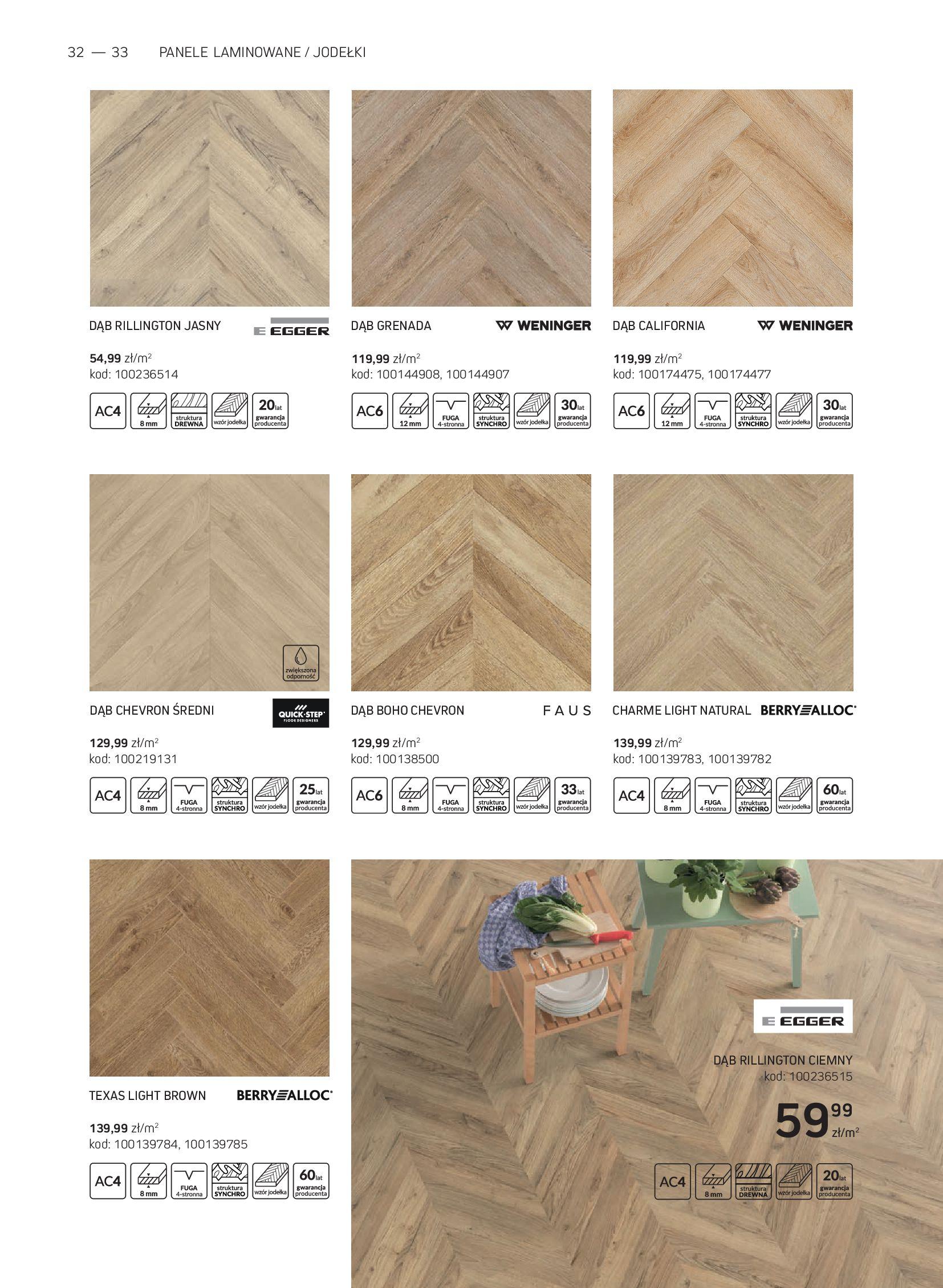 Gazetka Komfort: Gazetka Komfort - Katalog podłogi i drzwi 2021-06-16 page-32