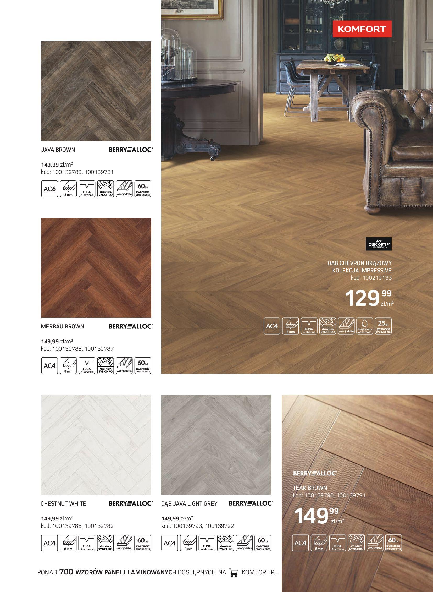 Gazetka Komfort: Gazetka Komfort - Katalog podłogi i drzwi 2021-06-16 page-33