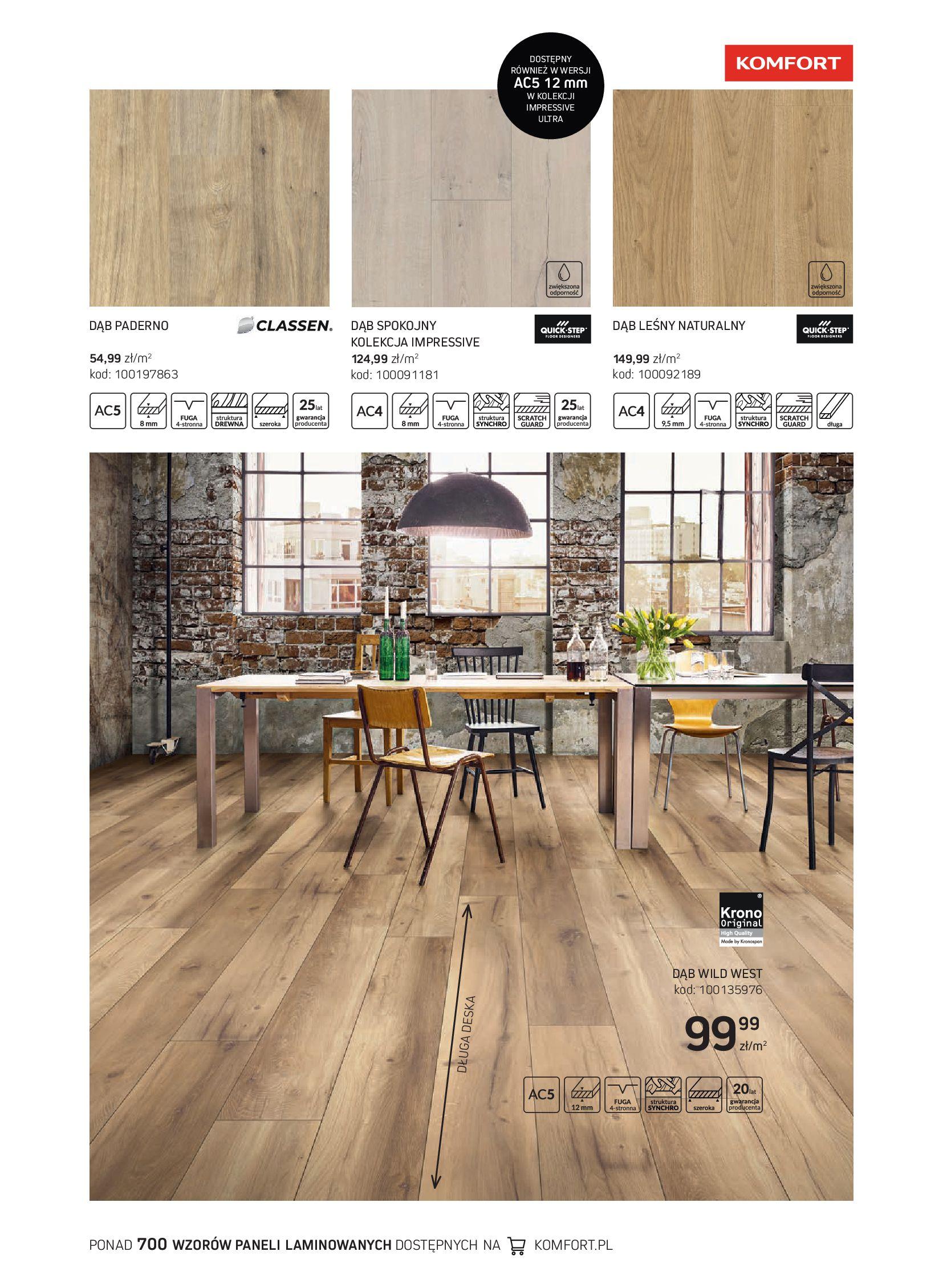 Gazetka Komfort: Gazetka Komfort - Katalog podłogi i drzwi 2021-06-16 page-35
