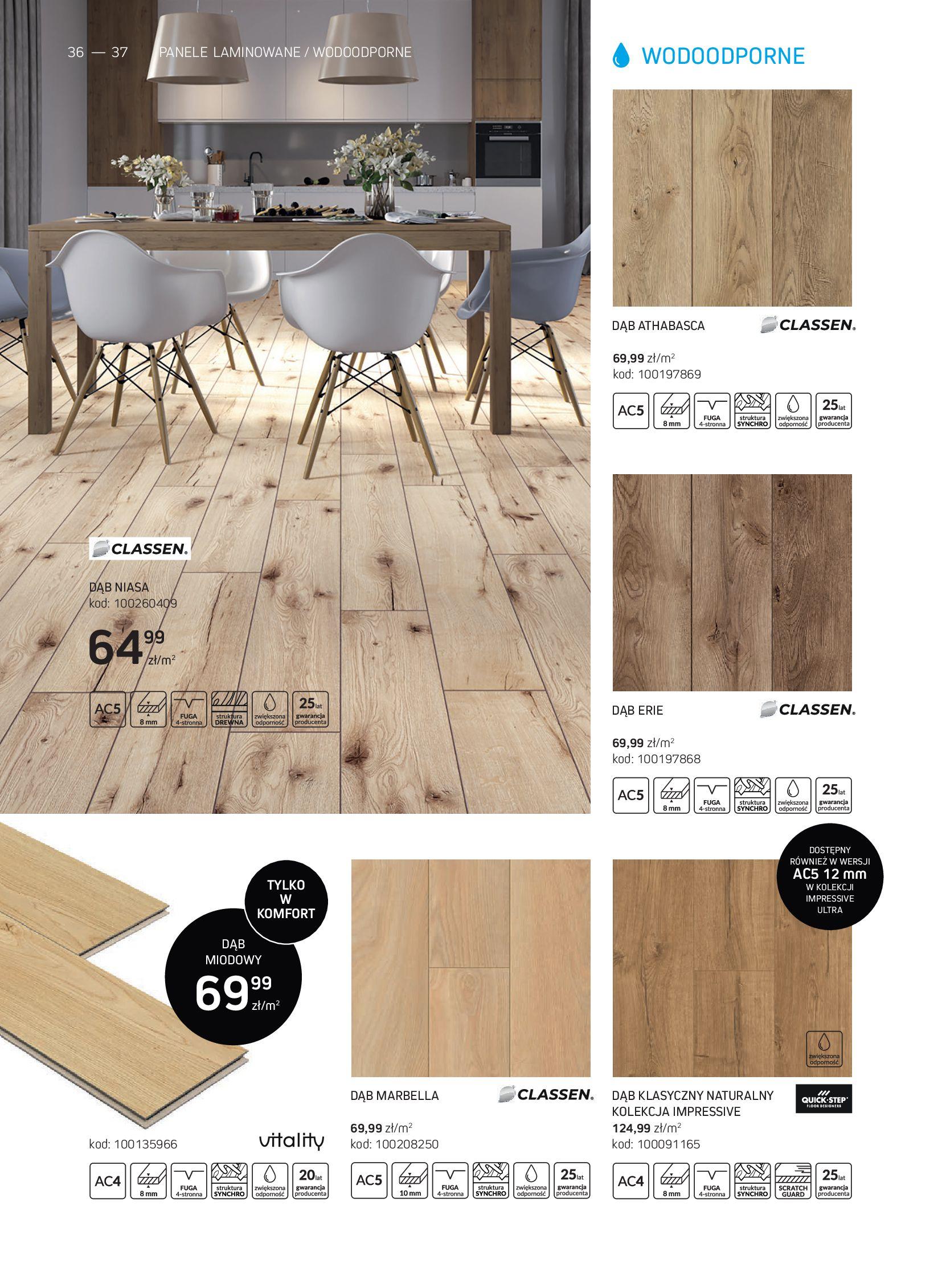 Gazetka Komfort: Gazetka Komfort - Katalog podłogi i drzwi 2021-06-16 page-36