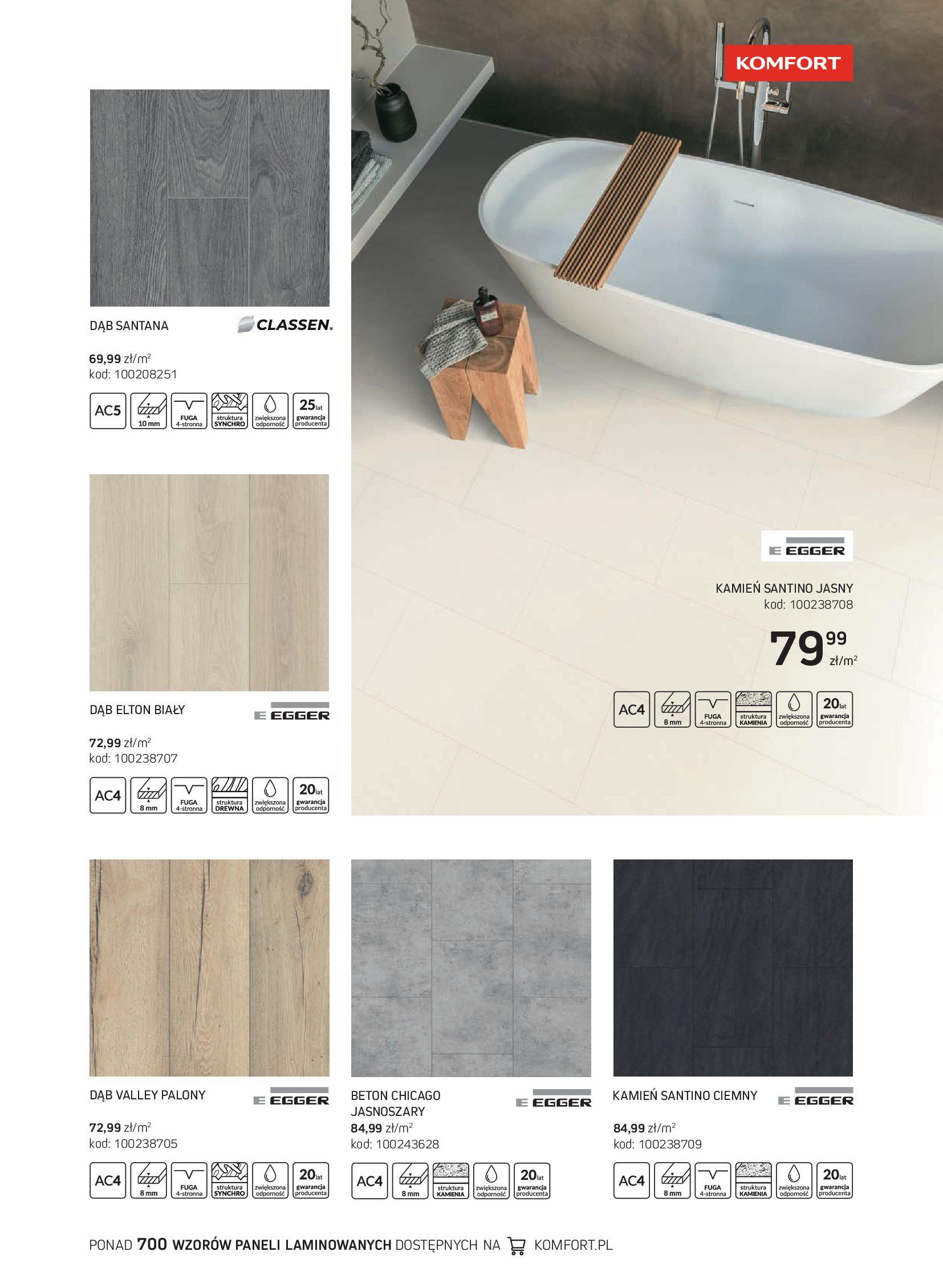 Gazetka Komfort: Gazetka Komfort - Katalog podłogi i drzwi 2021-06-16 page-37