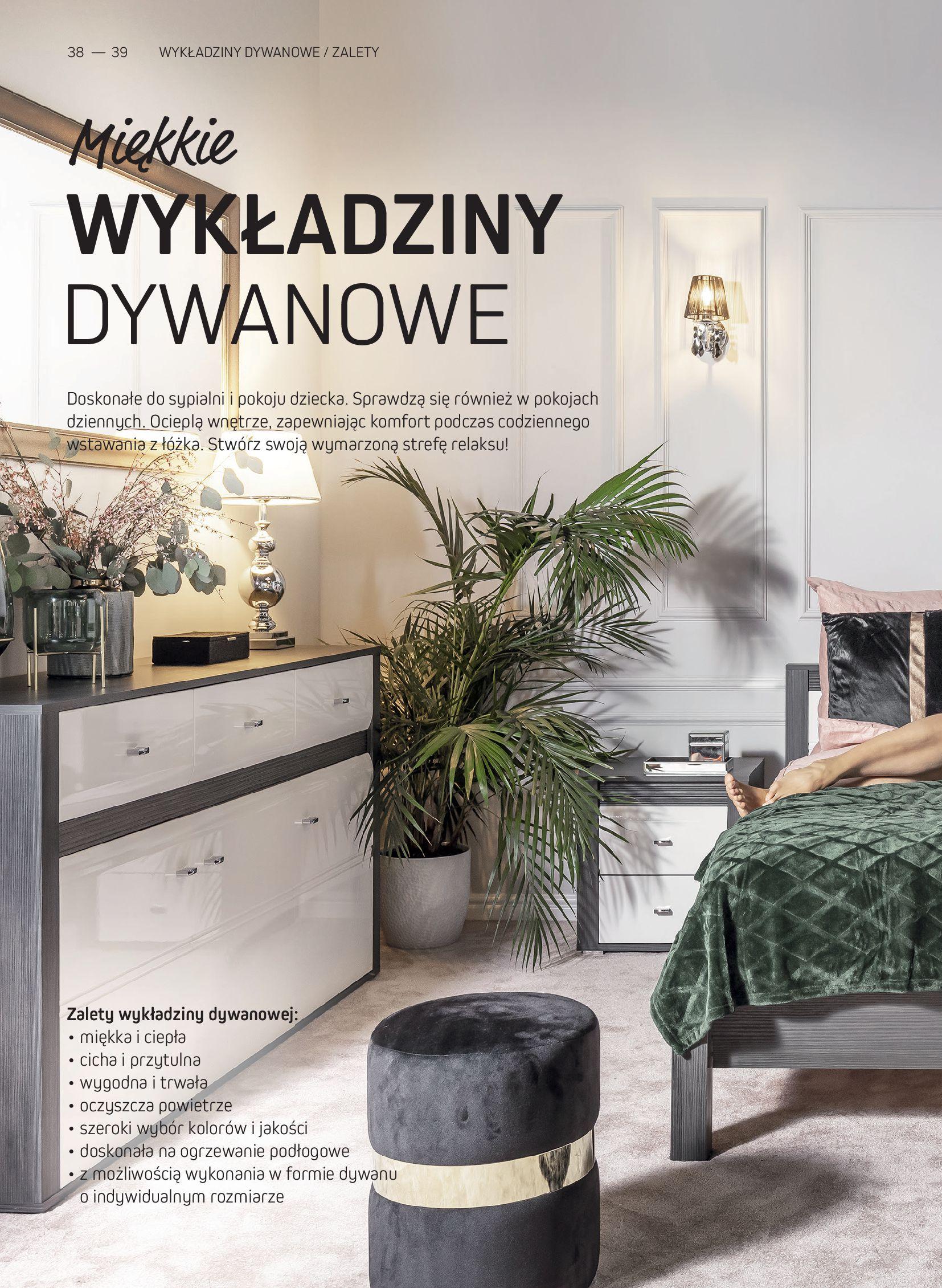 Gazetka Komfort: Gazetka Komfort - Katalog podłogi i drzwi 2021-06-16 page-38