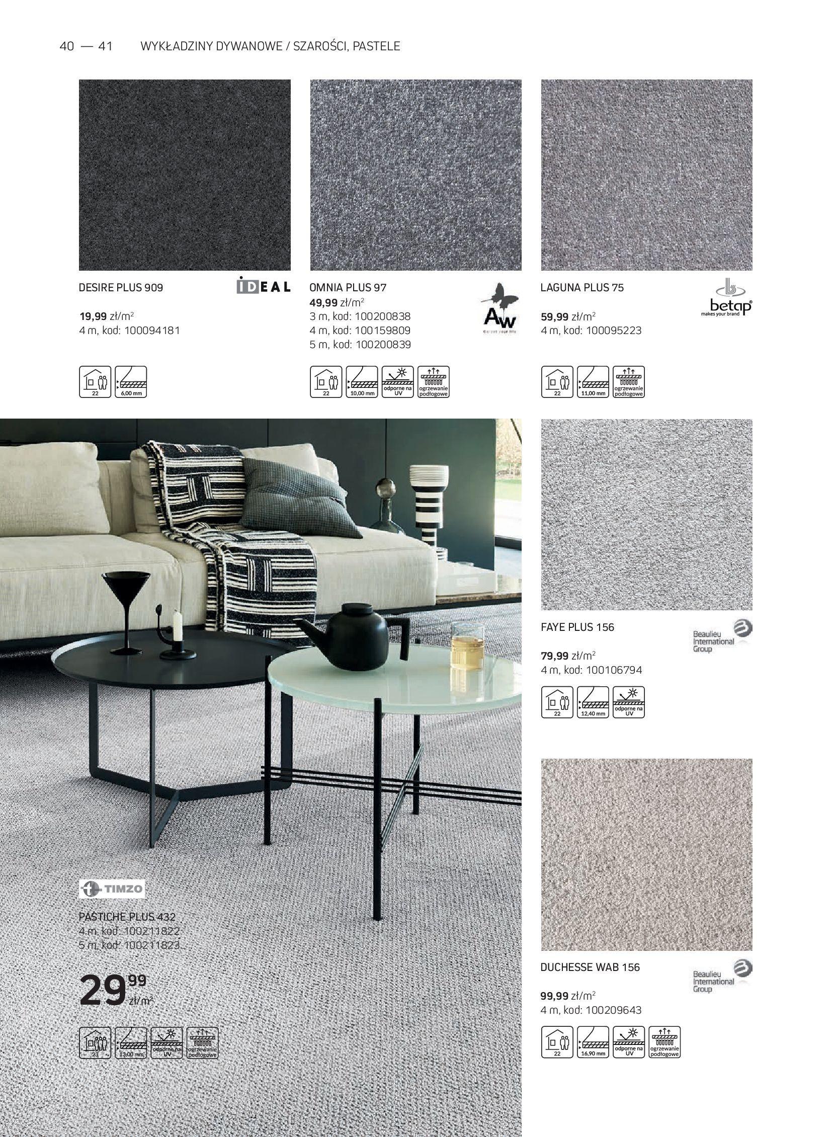 Gazetka Komfort: Gazetka Komfort - Katalog podłogi i drzwi 2021-06-16 page-40
