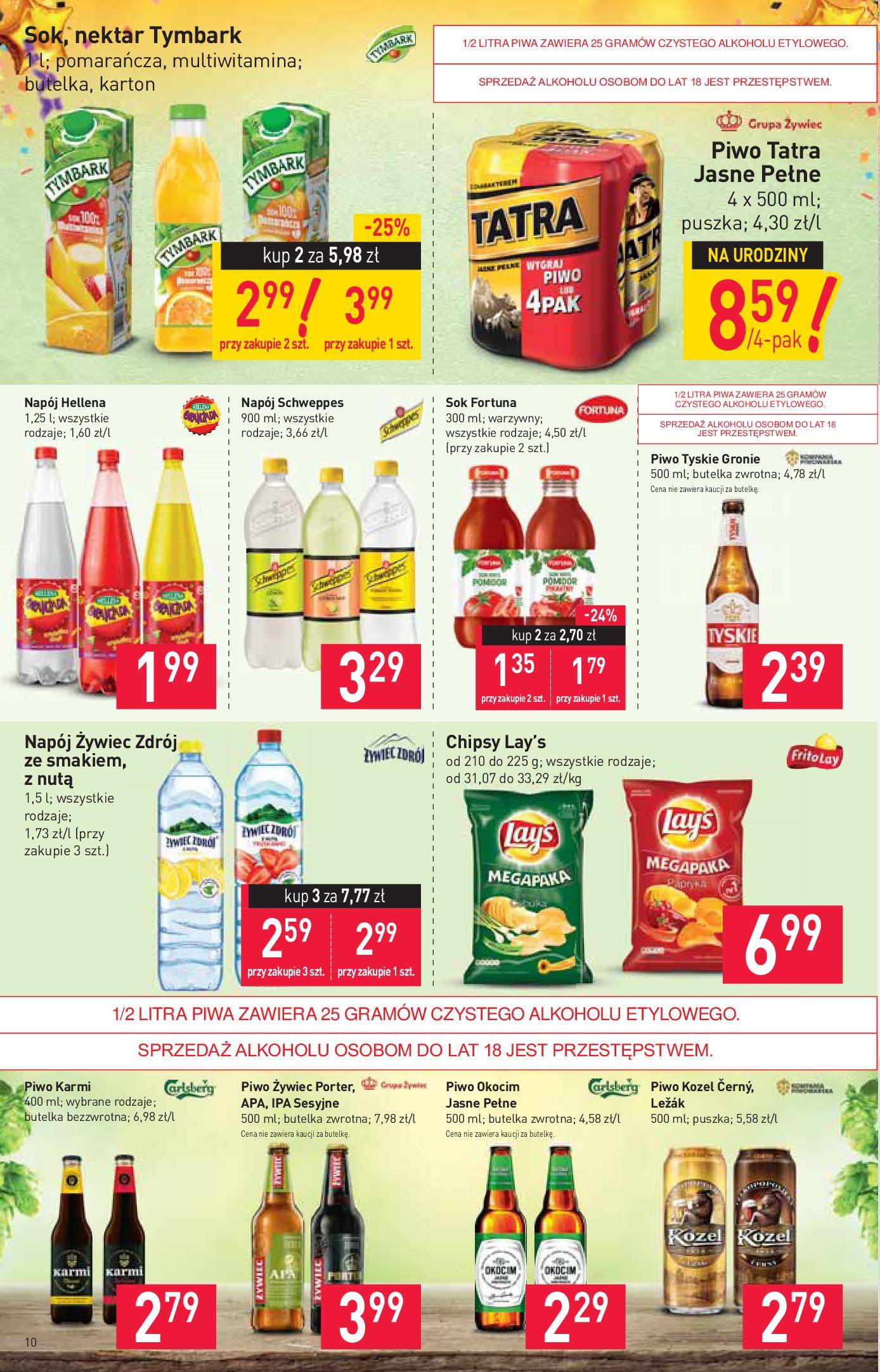 Gazetka Stokrotka Supermarket - W tym tygodniu-11.09.2019-18.09.2019-page-10