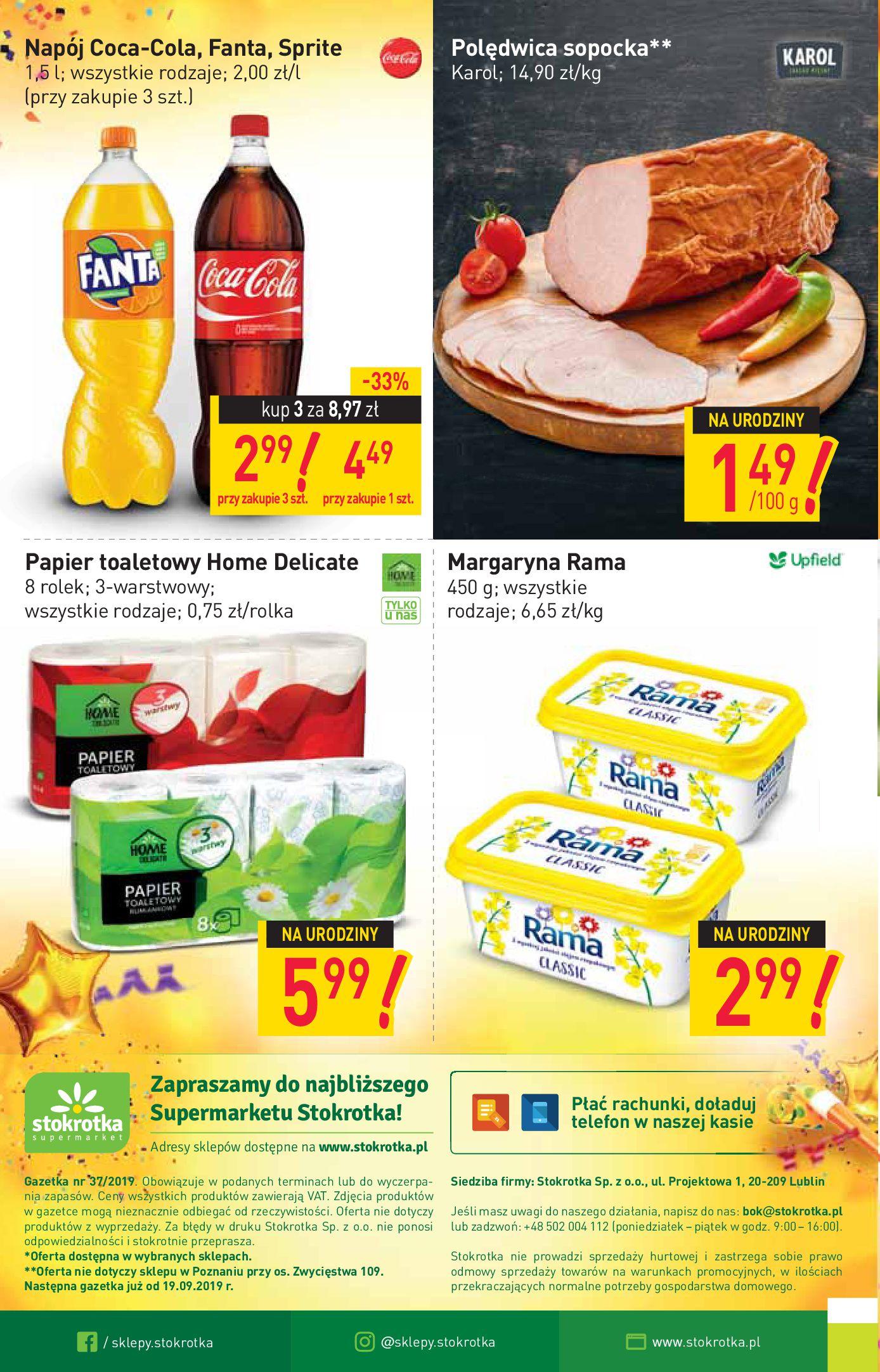 Gazetka Stokrotka Supermarket - W tym tygodniu-11.09.2019-18.09.2019-page-16