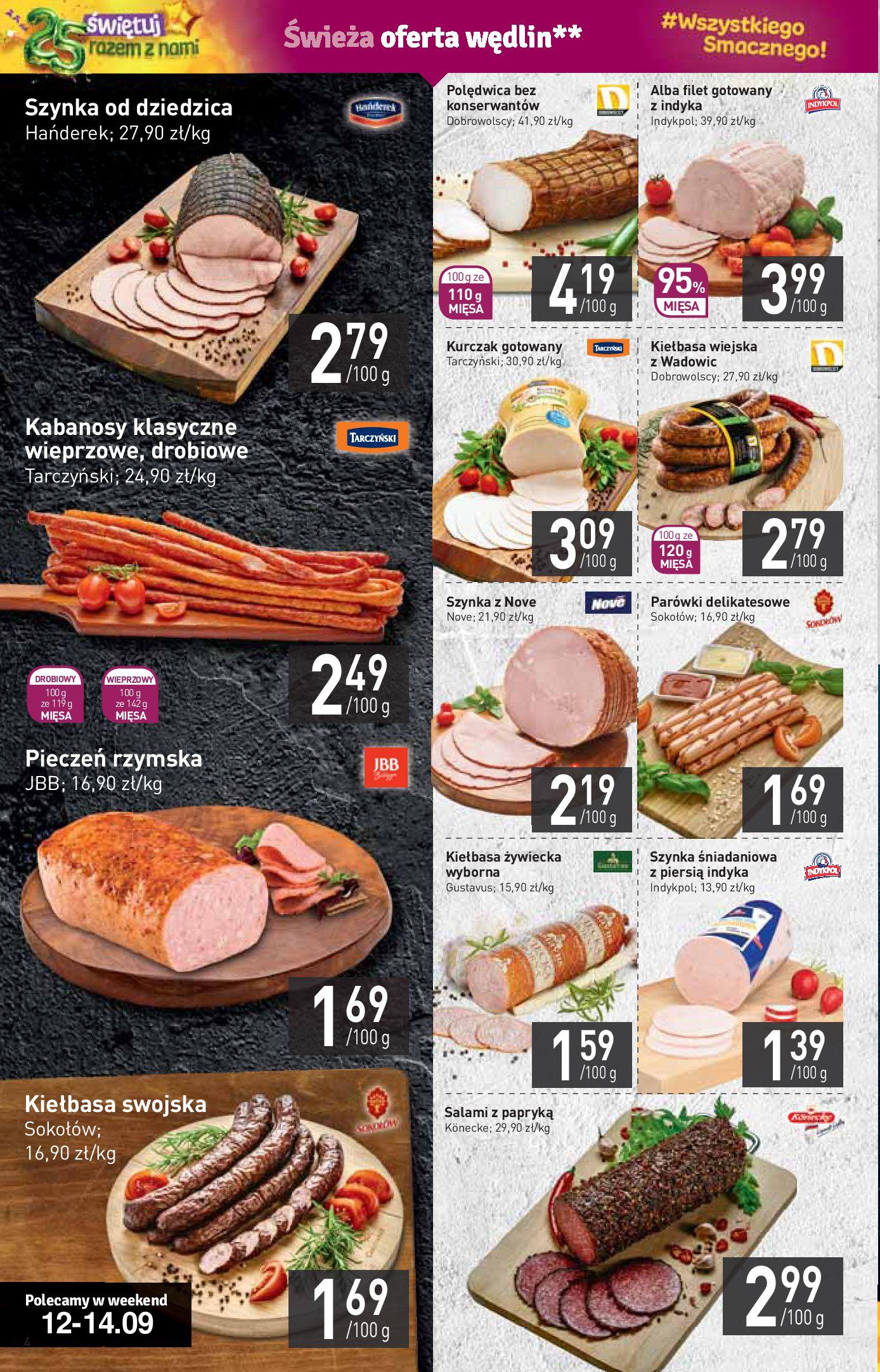 Gazetka Stokrotka Supermarket - W tym tygodniu-11.09.2019-18.09.2019-page-4