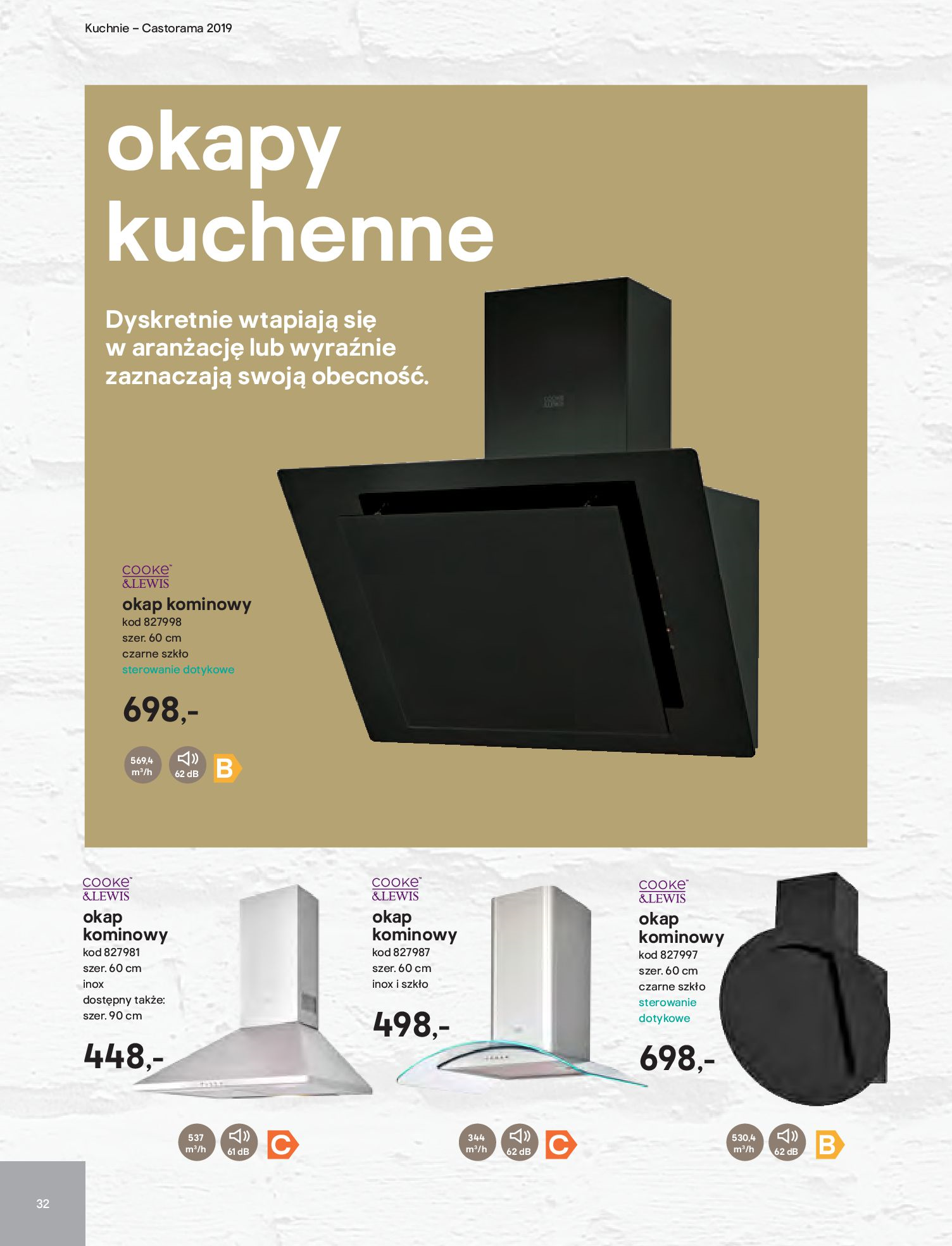 Gazetka Castorama - Katalog kuchnie 2019-02.04.2019-31.12.2019-page-