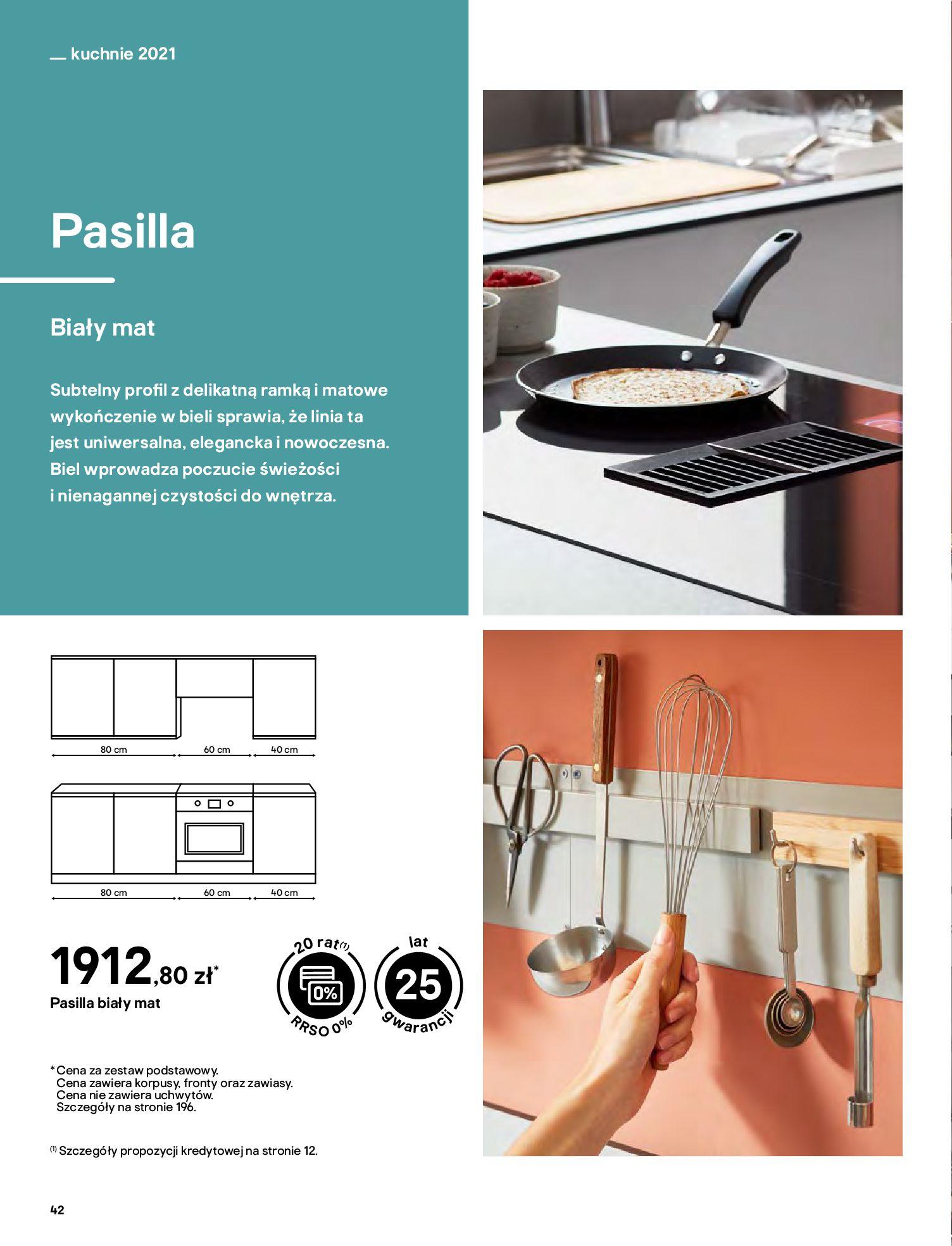 Gazetka Castorama: Katalog kuchnie 2021 2021-05-04 page-42