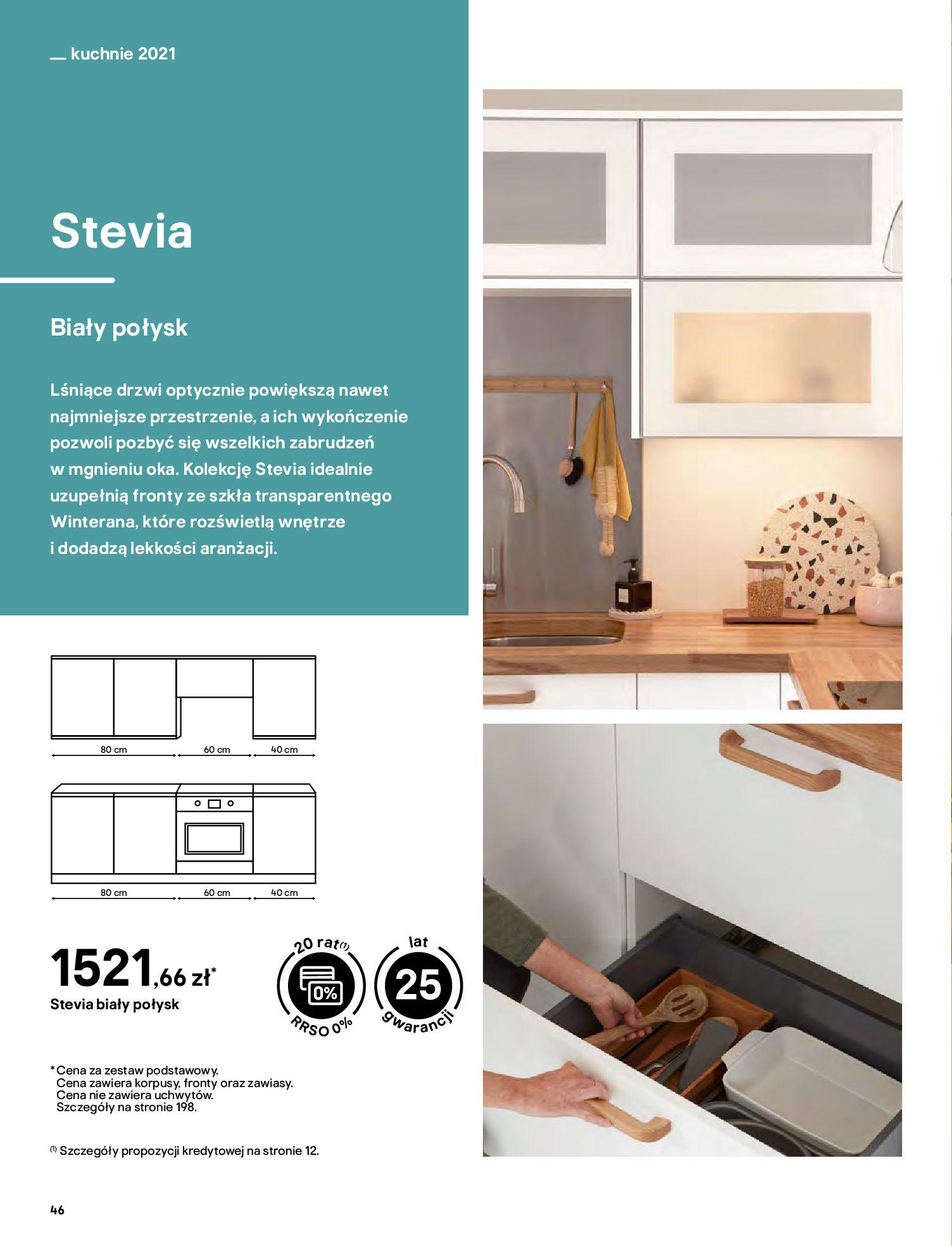 Gazetka Castorama: Katalog kuchnie 2021 2021-05-04 page-46