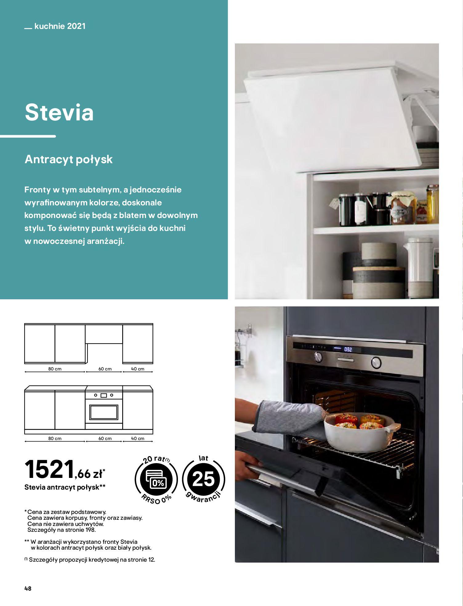 Gazetka Castorama: Katalog kuchnie 2021 2021-05-04 page-48