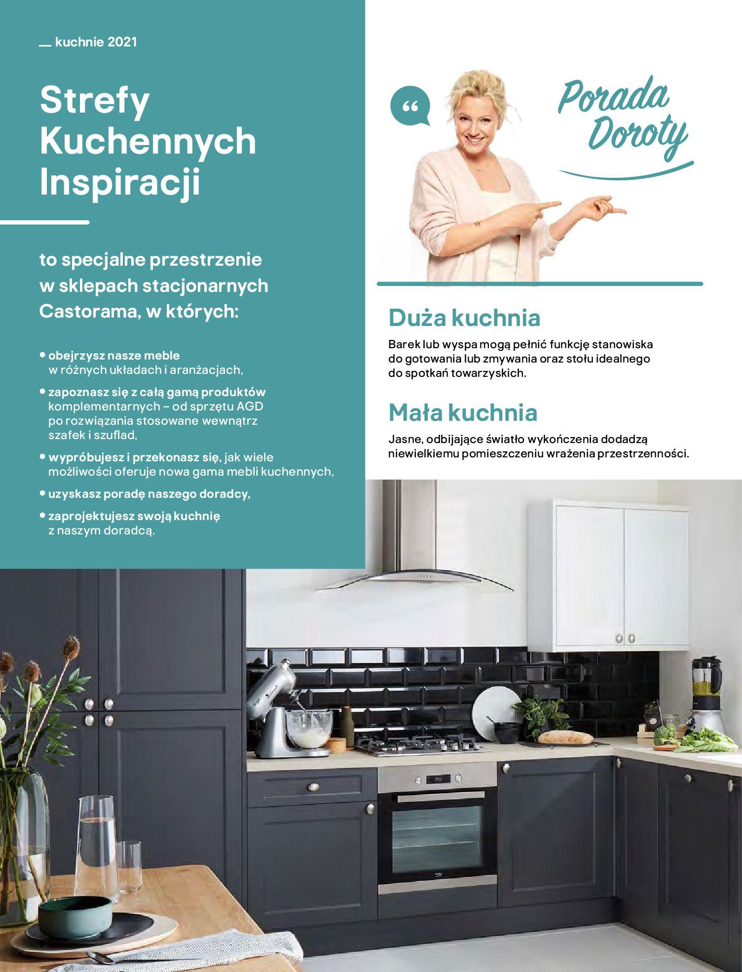 Gazetka Castorama: Katalog kuchnie 2021 2021-05-04 page-6