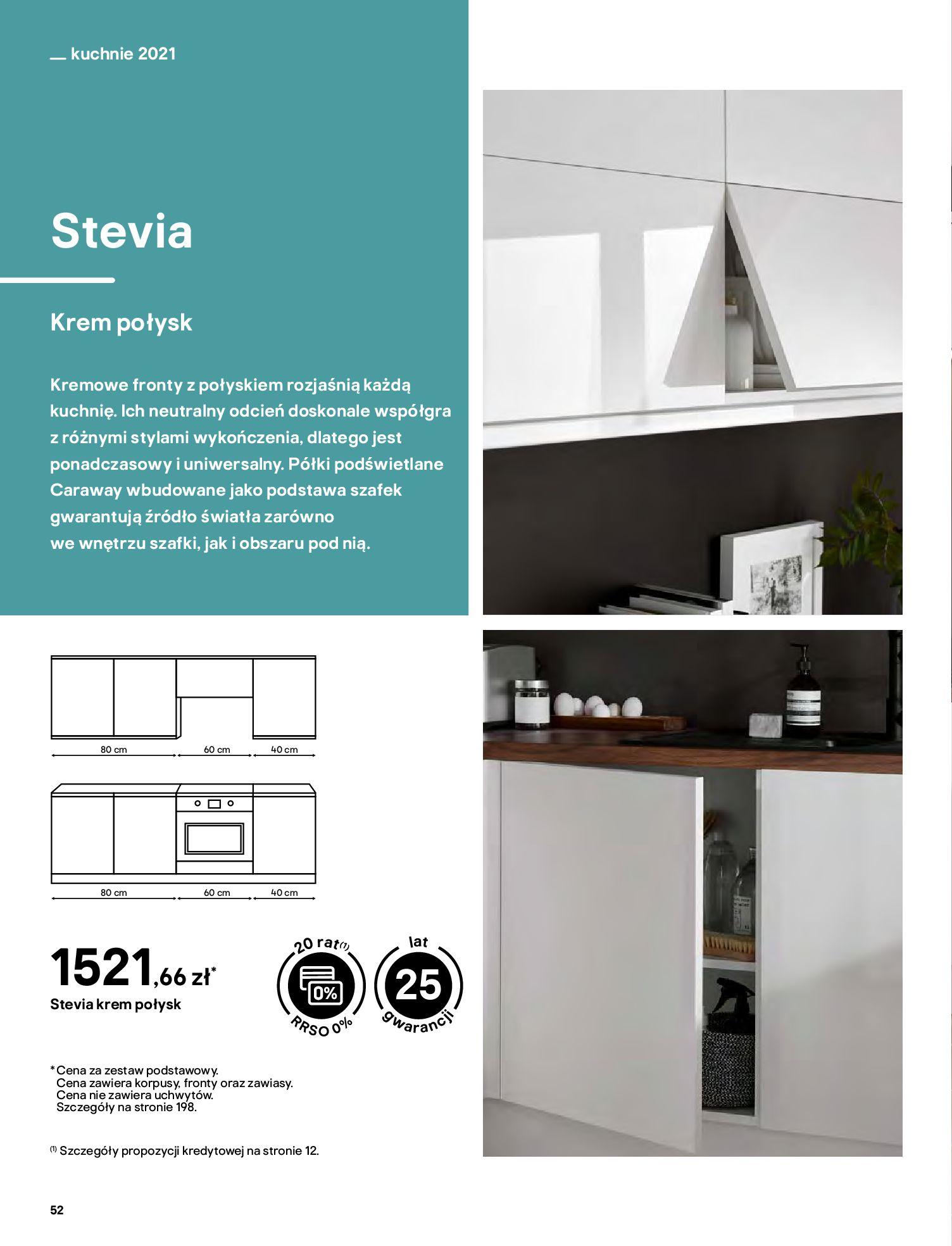 Gazetka Castorama: Katalog kuchnie 2021 2021-05-04 page-52
