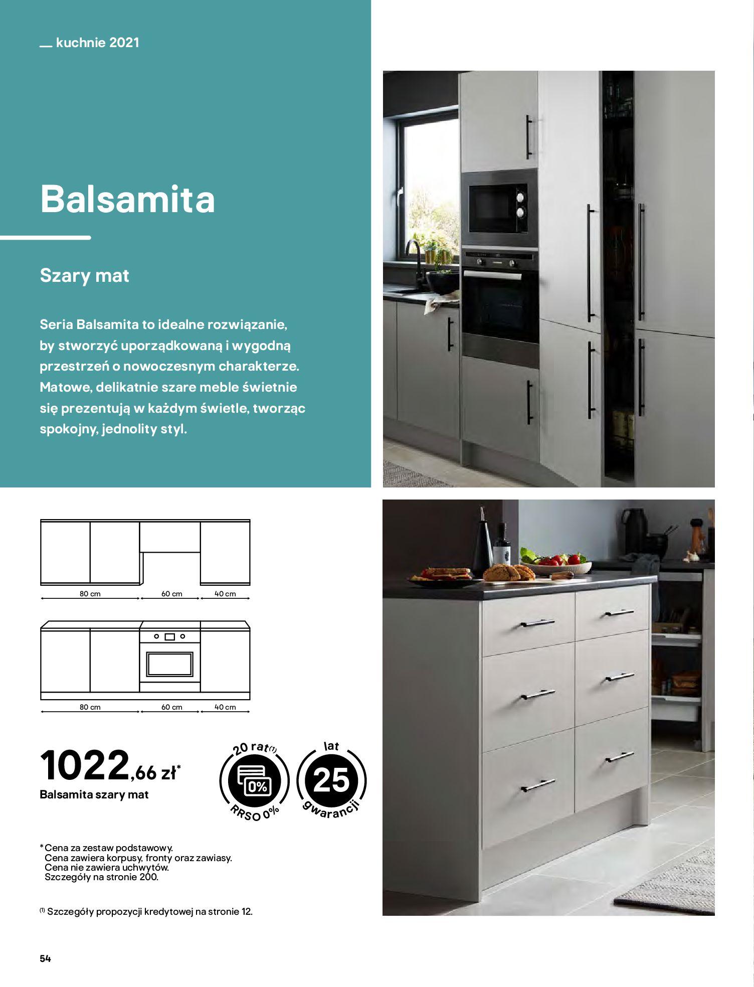 Gazetka Castorama: Katalog kuchnie 2021 2021-05-04 page-54