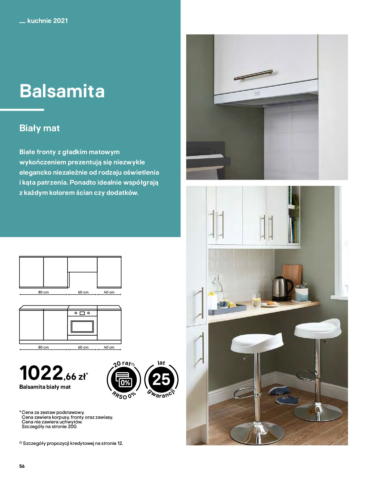 Gazetka Castorama: Katalog kuchnie 2021 2021-05-04 page-56