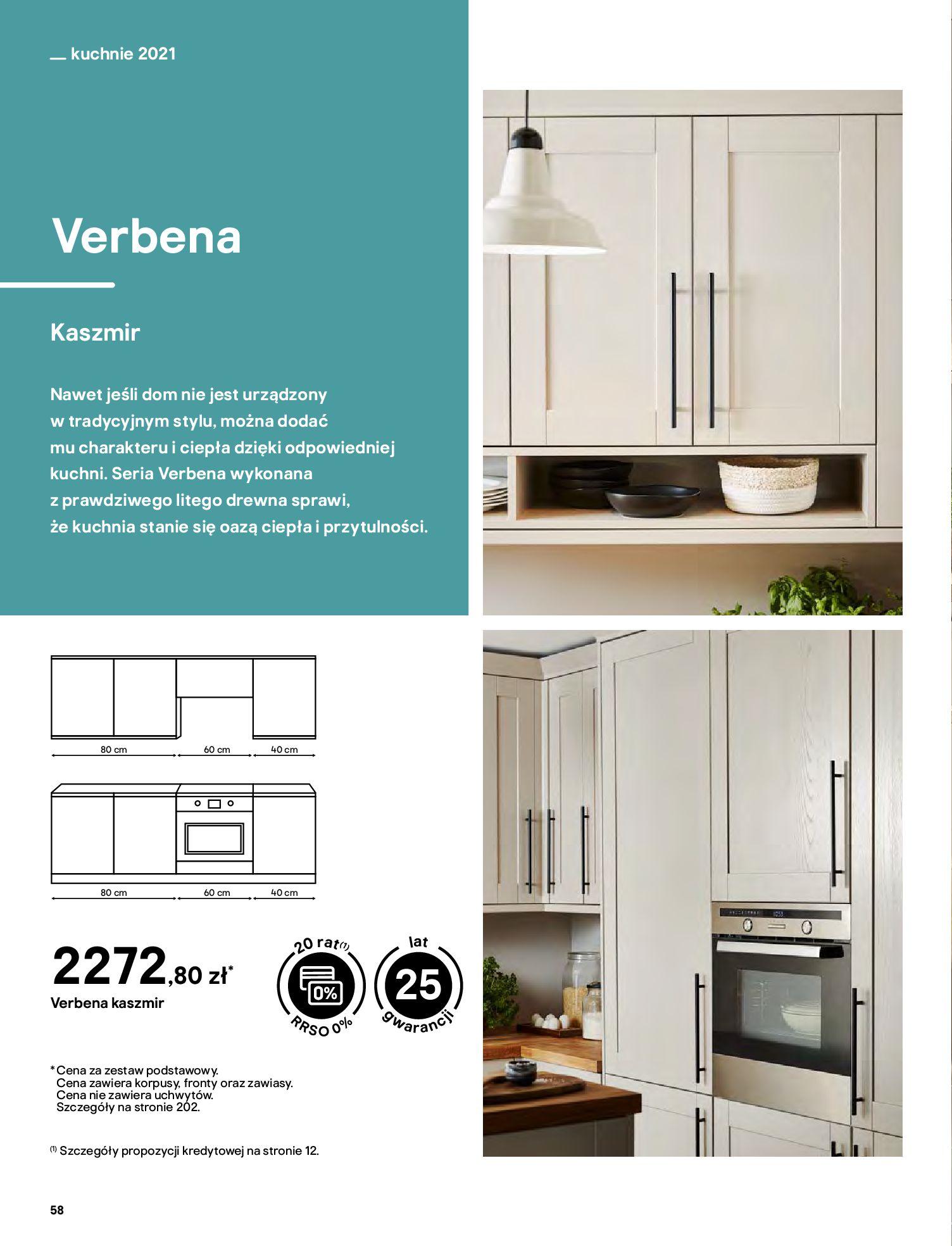 Gazetka Castorama: Katalog kuchnie 2021 2021-05-04 page-58