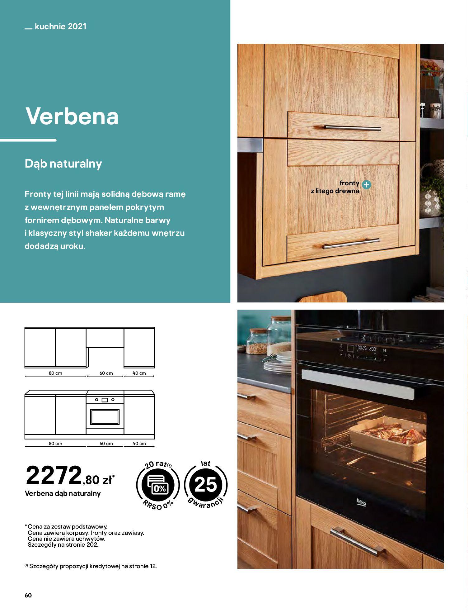 Gazetka Castorama: Katalog kuchnie 2021 2021-05-04 page-60