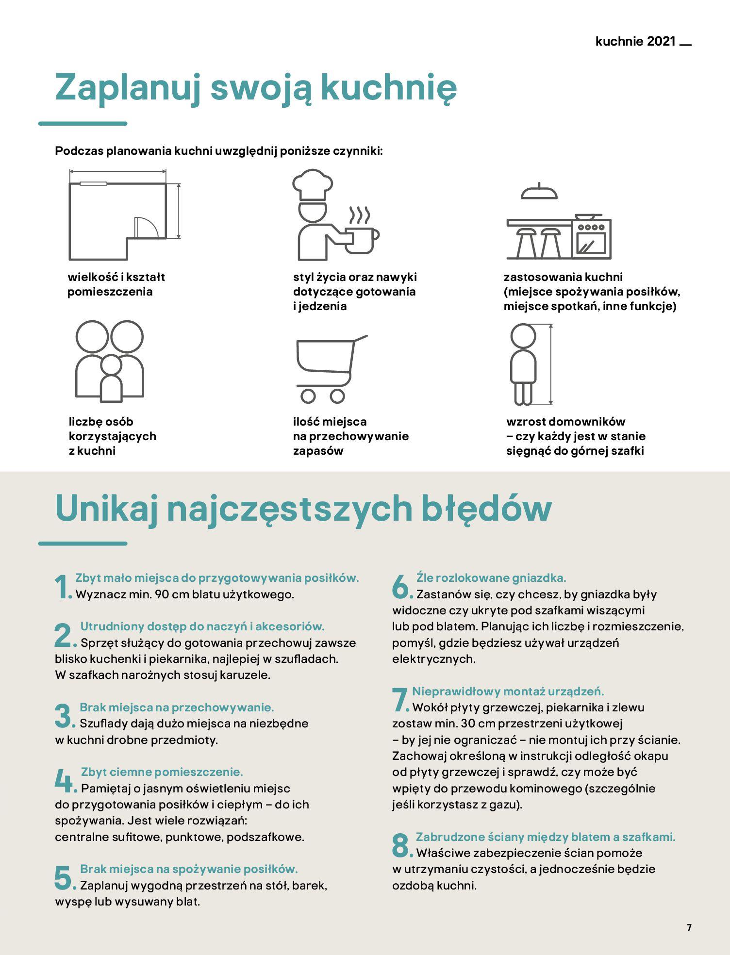 Gazetka Castorama: Katalog kuchnie 2021 2021-05-04 page-7