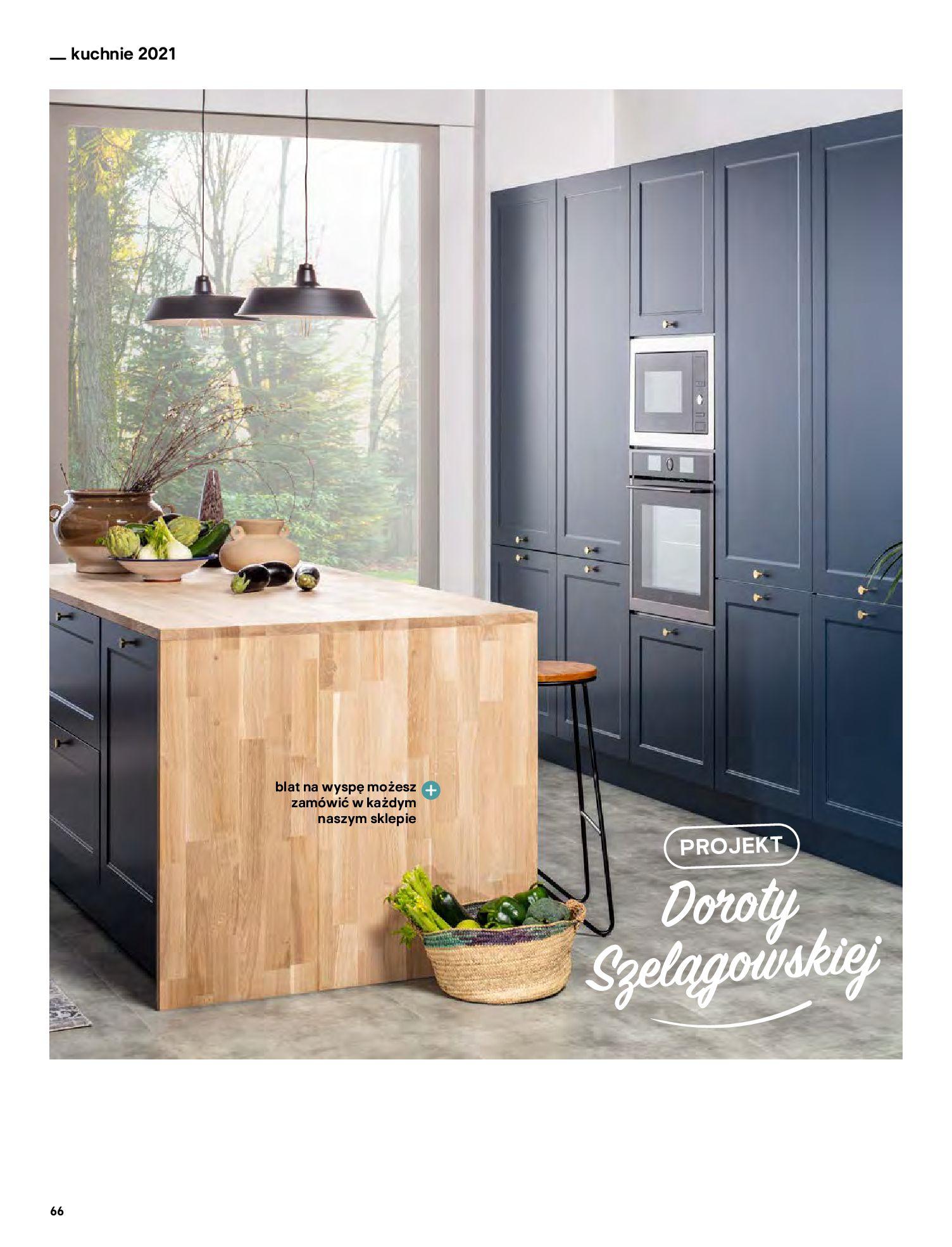 Gazetka Castorama: Katalog kuchnie 2021 2021-05-04 page-66