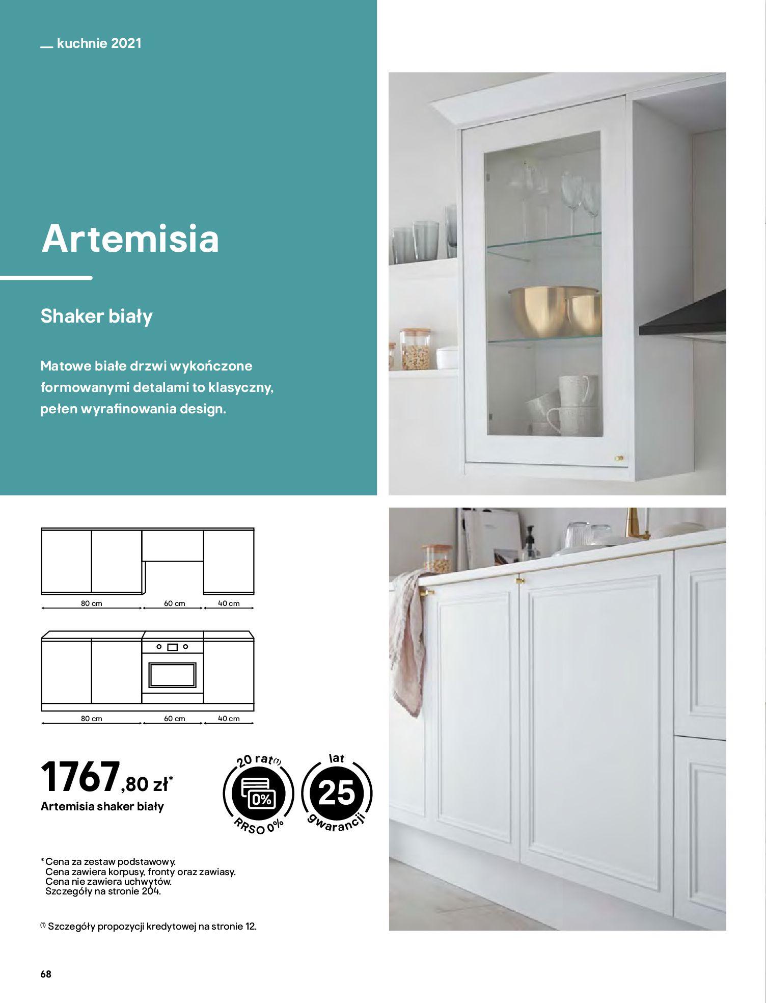 Gazetka Castorama: Katalog kuchnie 2021 2021-05-04 page-68