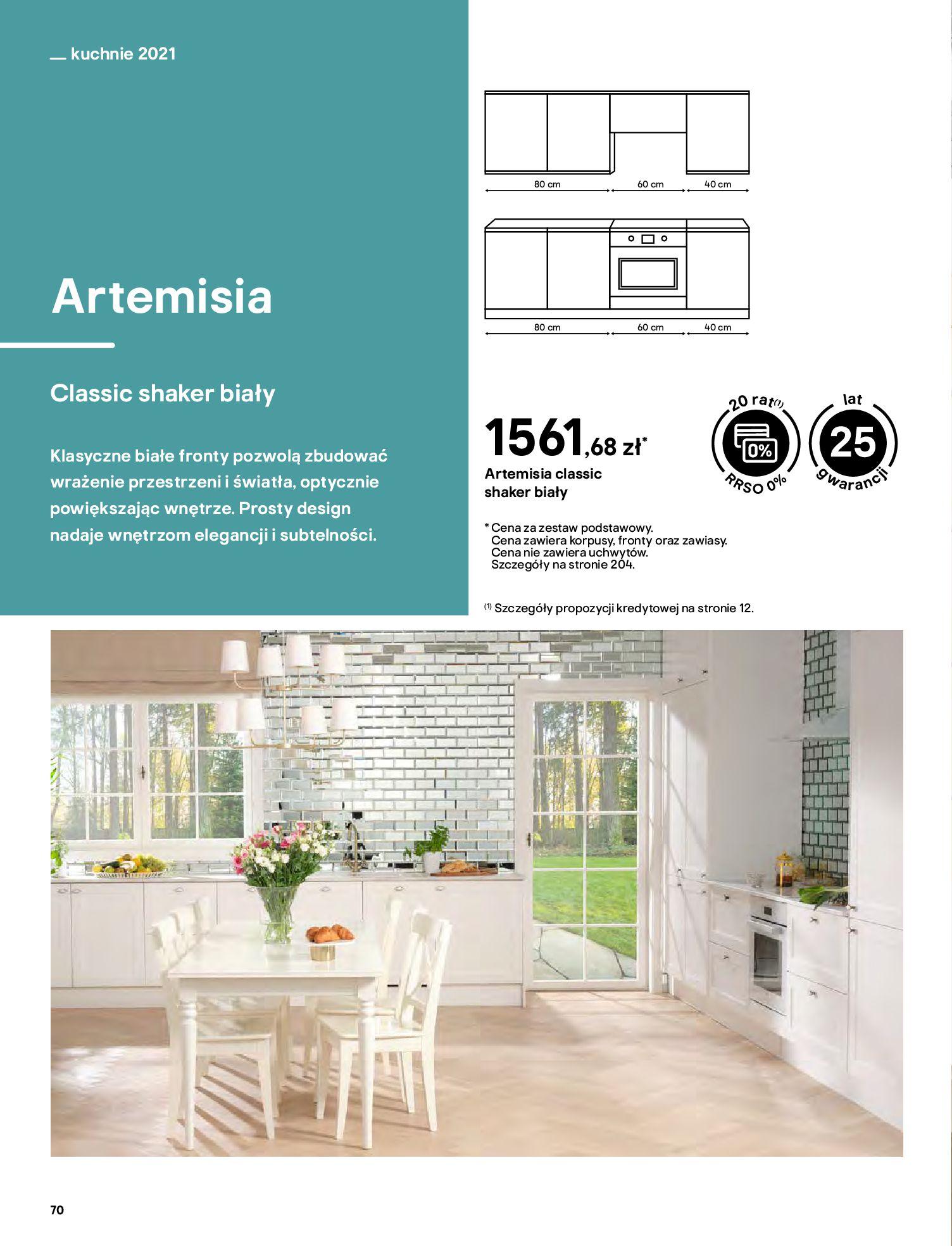 Gazetka Castorama: Katalog kuchnie 2021 2021-05-04 page-70