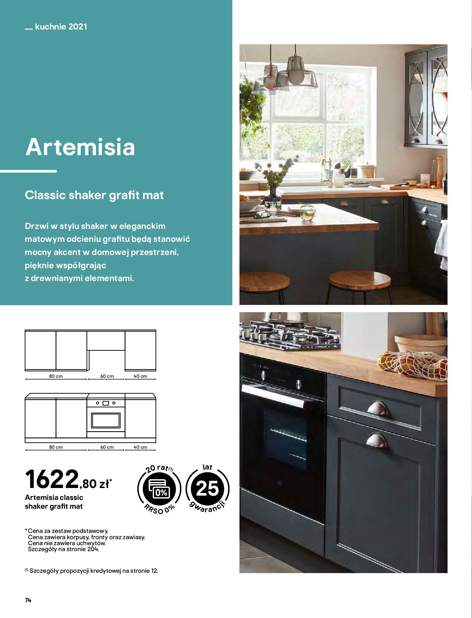 Gazetka Castorama: Katalog kuchnie 2021 2021-05-04 page-74