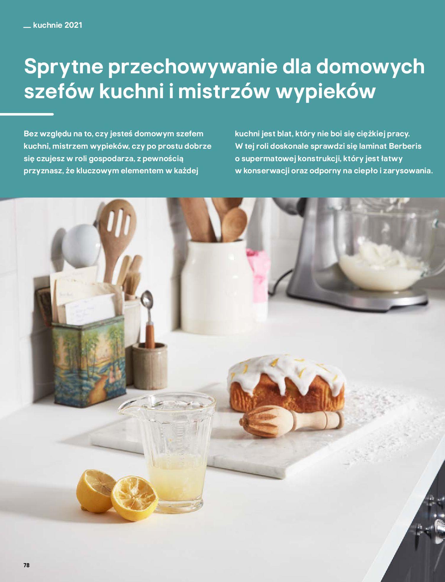 Gazetka Castorama: Katalog kuchnie 2021 2021-05-04 page-78