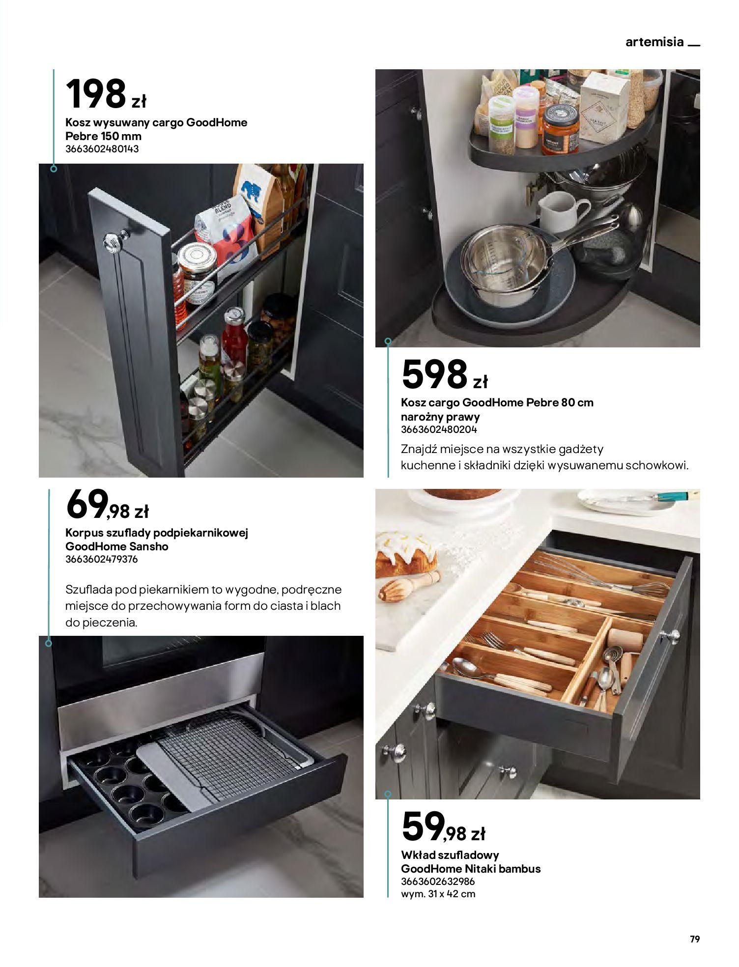 Gazetka Castorama: Katalog kuchnie 2021 2021-05-04 page-79