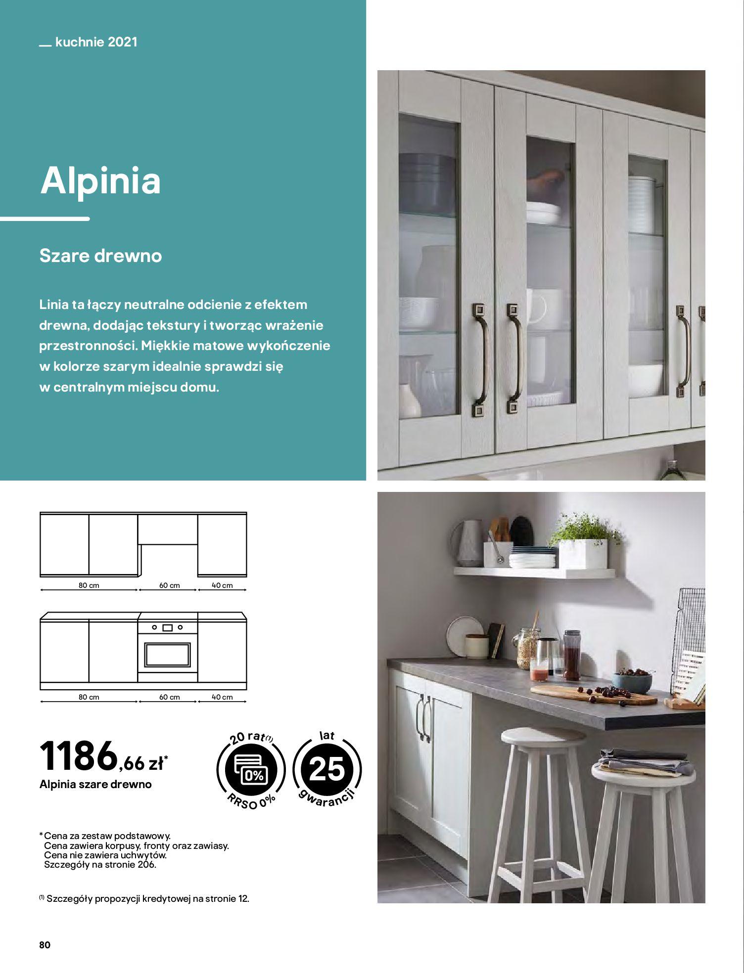 Gazetka Castorama: Katalog kuchnie 2021 2021-05-04 page-80