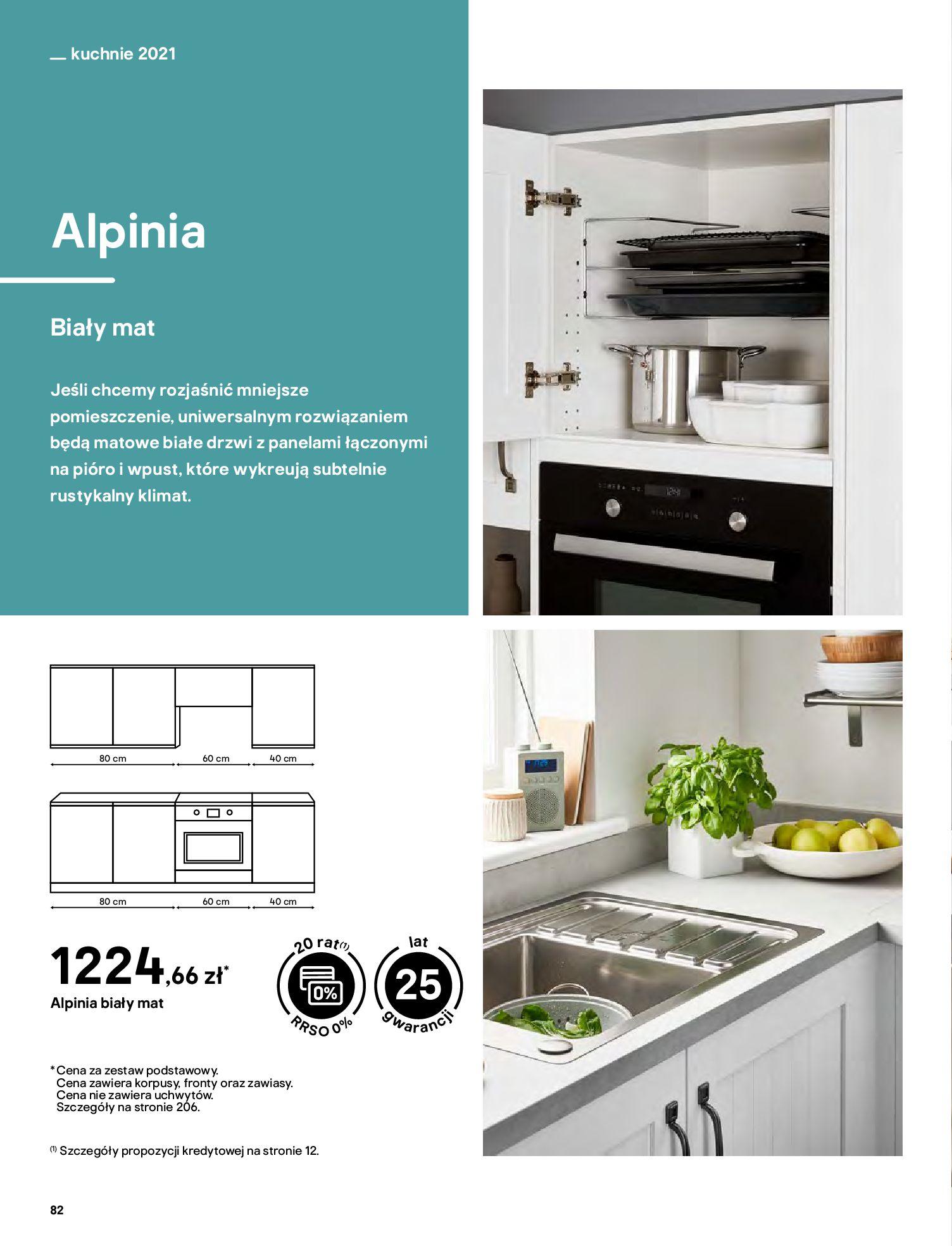 Gazetka Castorama: Katalog kuchnie 2021 2021-05-04 page-82