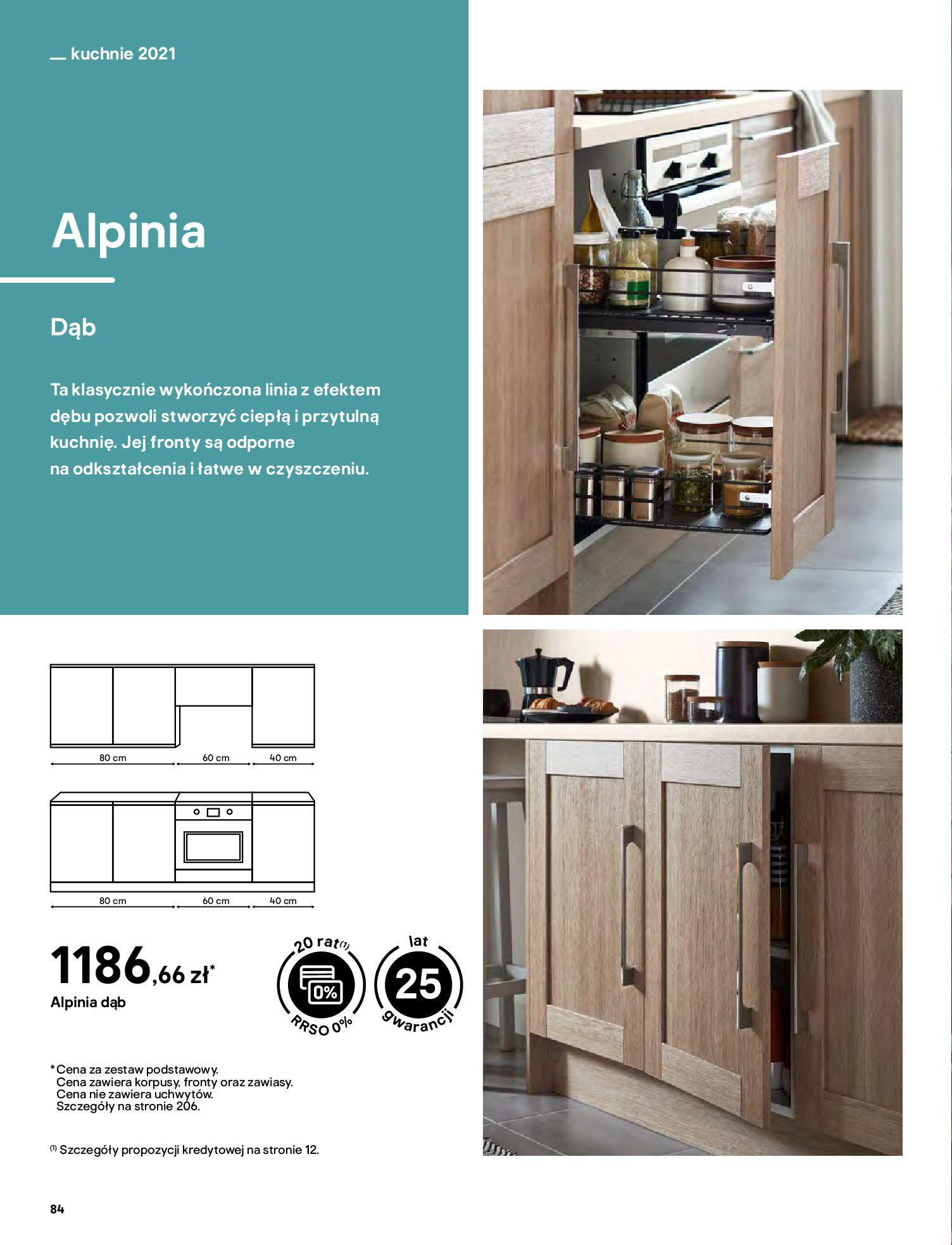 Gazetka Castorama: Katalog kuchnie 2021 2021-05-04 page-84