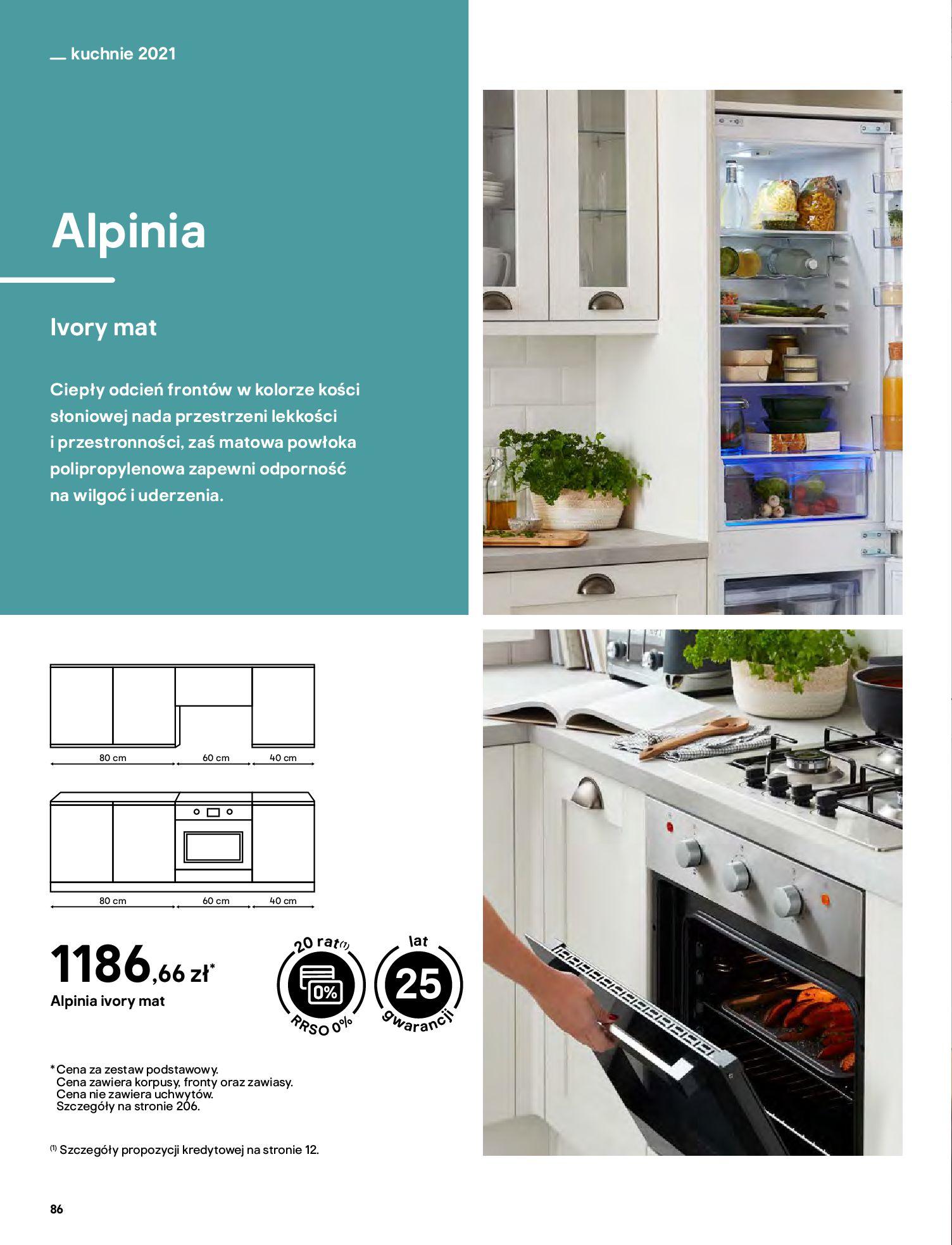 Gazetka Castorama: Katalog kuchnie 2021 2021-05-04 page-86
