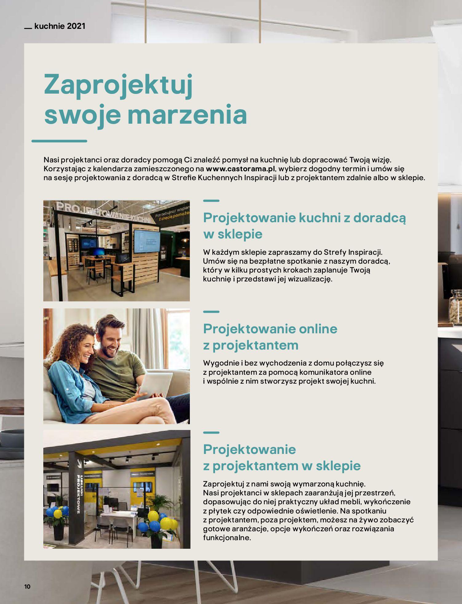 Gazetka Castorama: Katalog kuchnie 2021 2021-05-04 page-10