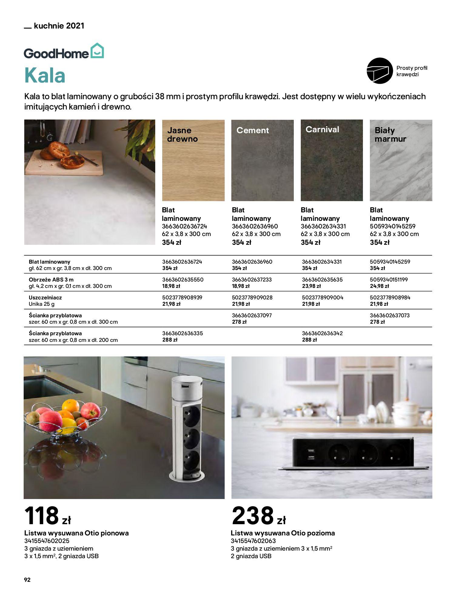 Gazetka Castorama: Katalog kuchnie 2021 2021-05-04 page-92