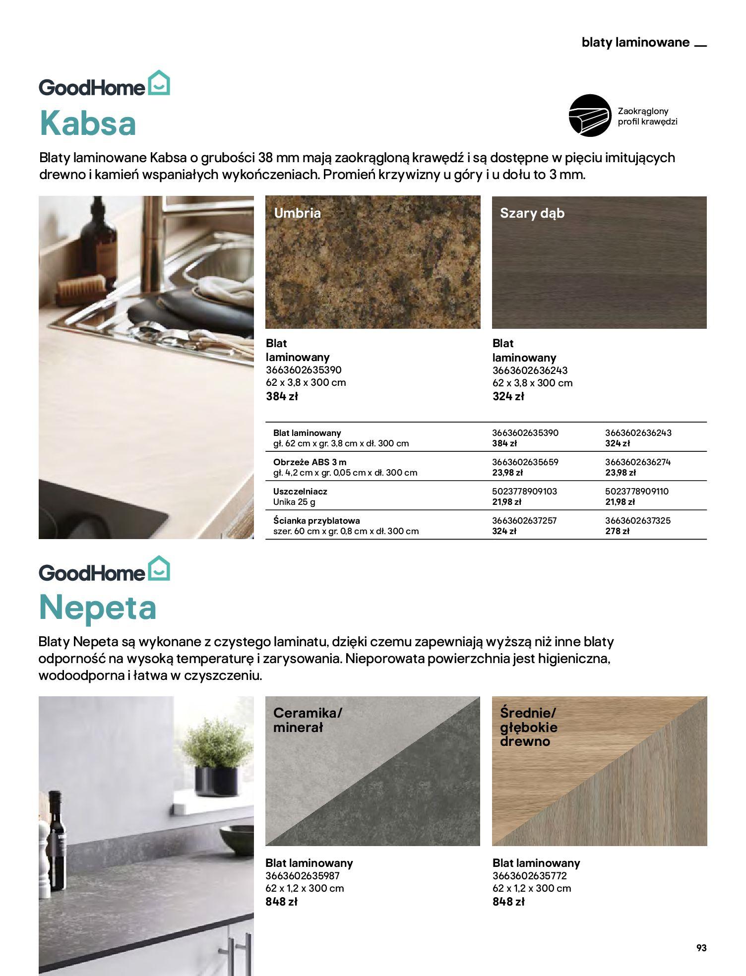 Gazetka Castorama: Katalog kuchnie 2021 2021-05-04 page-93