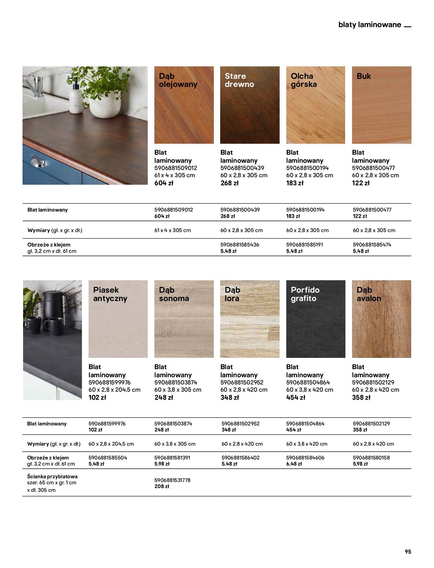 Gazetka Castorama: Katalog kuchnie 2021 2021-05-04 page-95