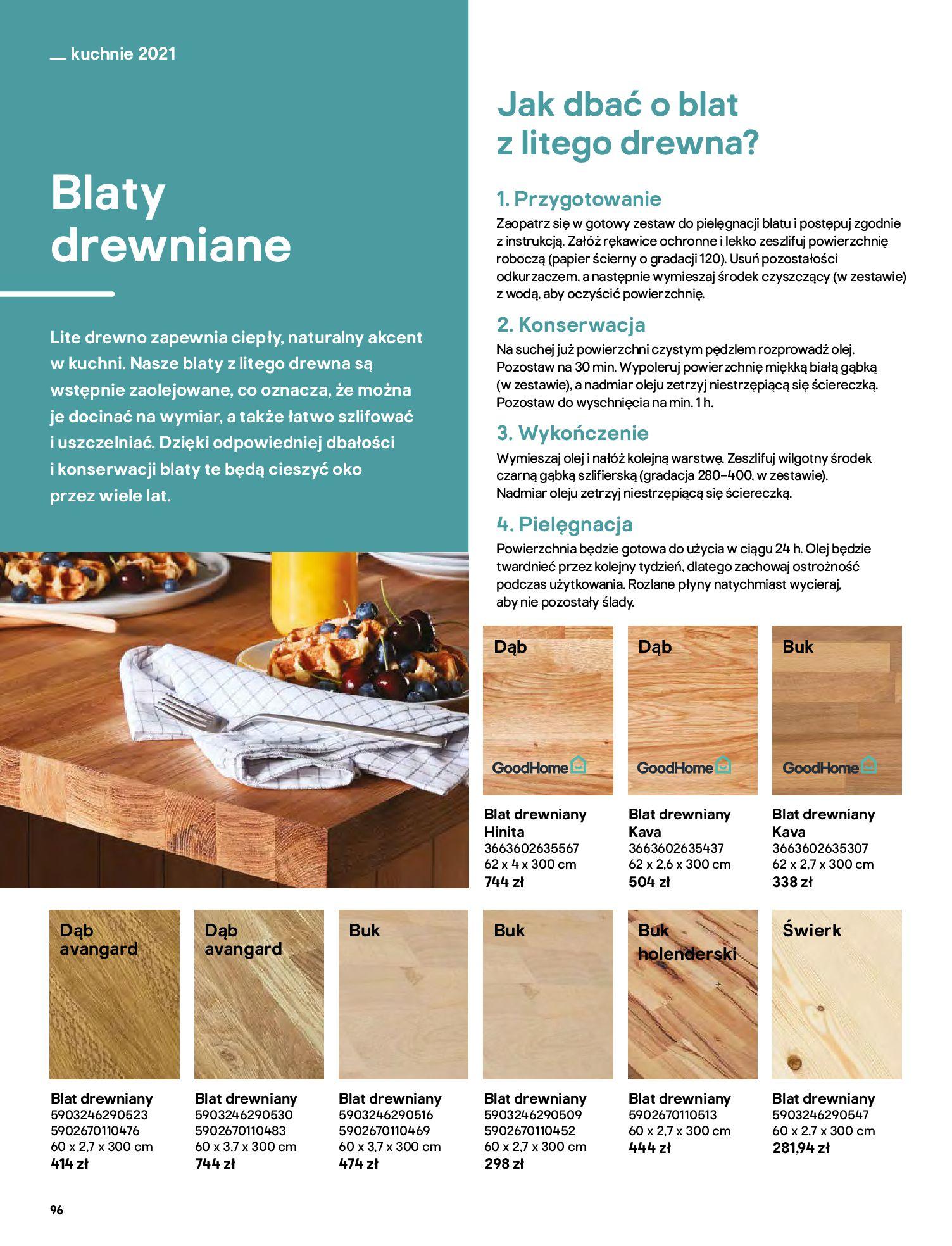 Gazetka Castorama: Katalog kuchnie 2021 2021-05-04 page-96