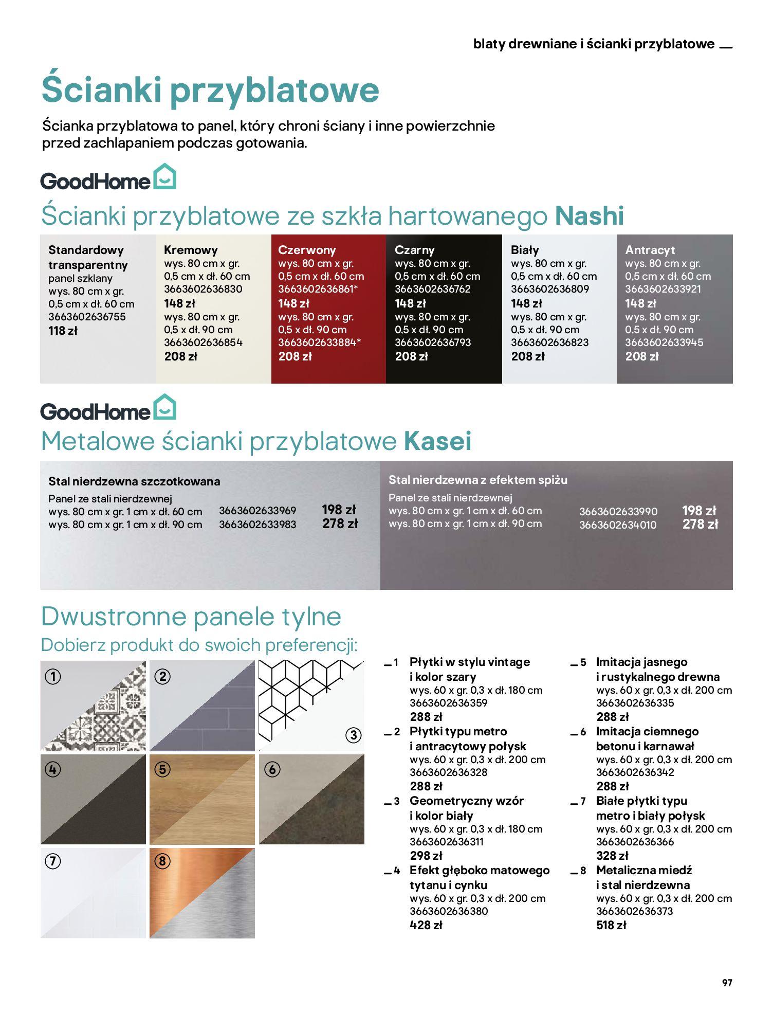 Gazetka Castorama: Katalog kuchnie 2021 2021-05-04 page-97