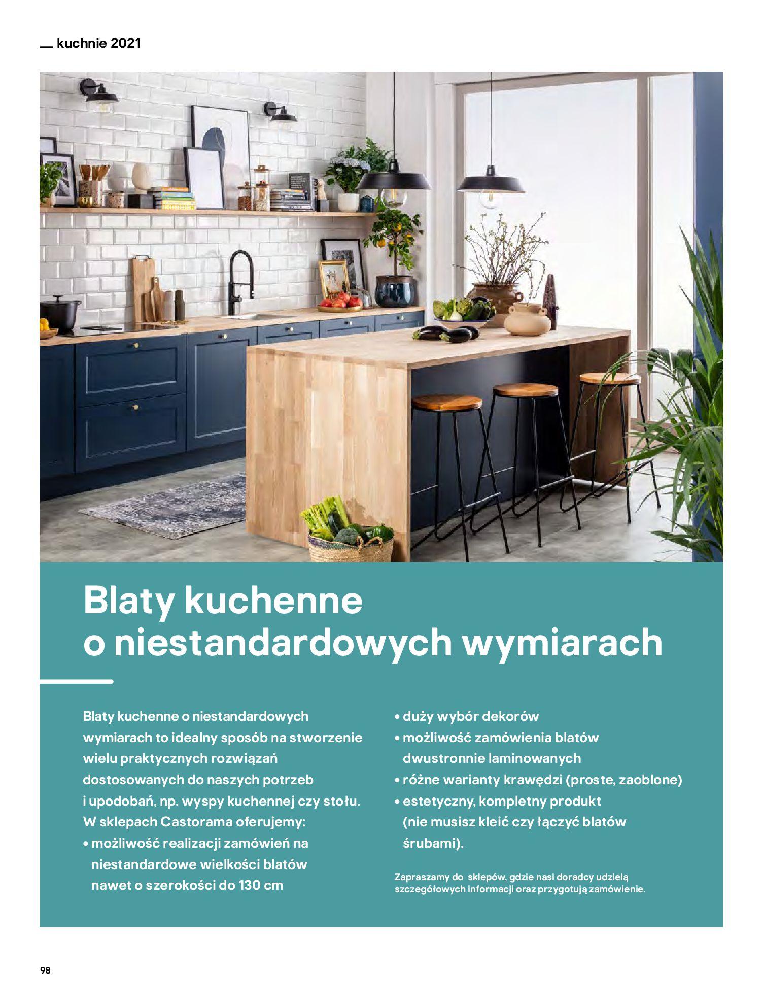 Gazetka Castorama: Katalog kuchnie 2021 2021-05-04 page-98