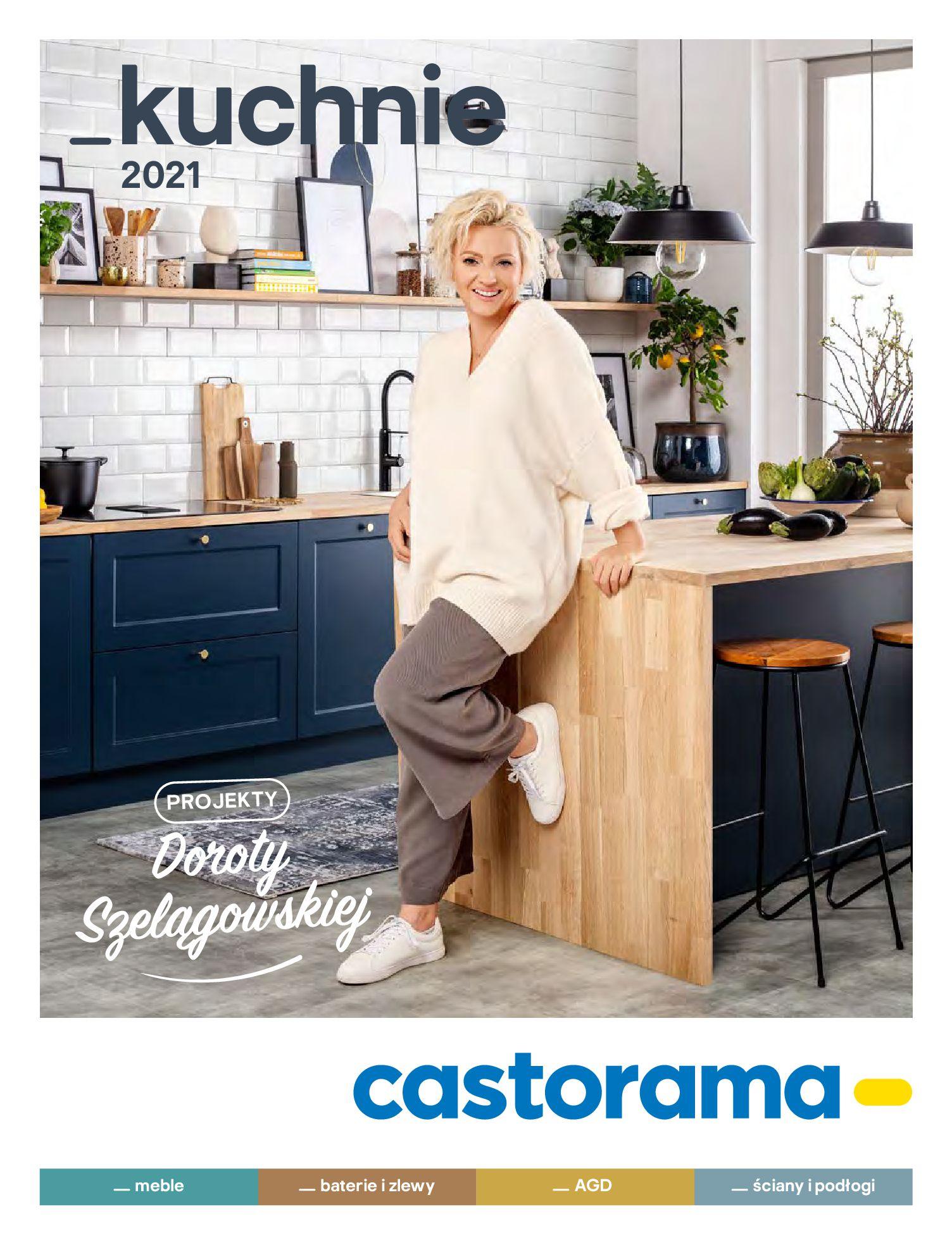 Castorama:  Katalog kuchnie 2021 03.05.2021