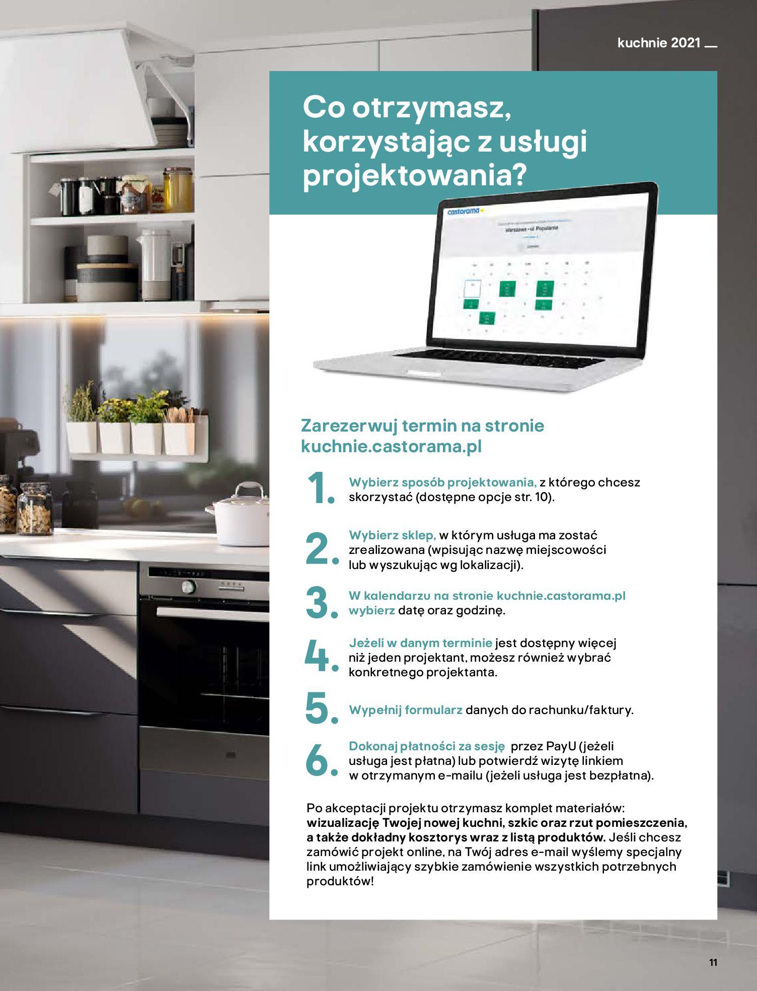Gazetka Castorama: Katalog kuchnie 2021 2021-05-04 page-11