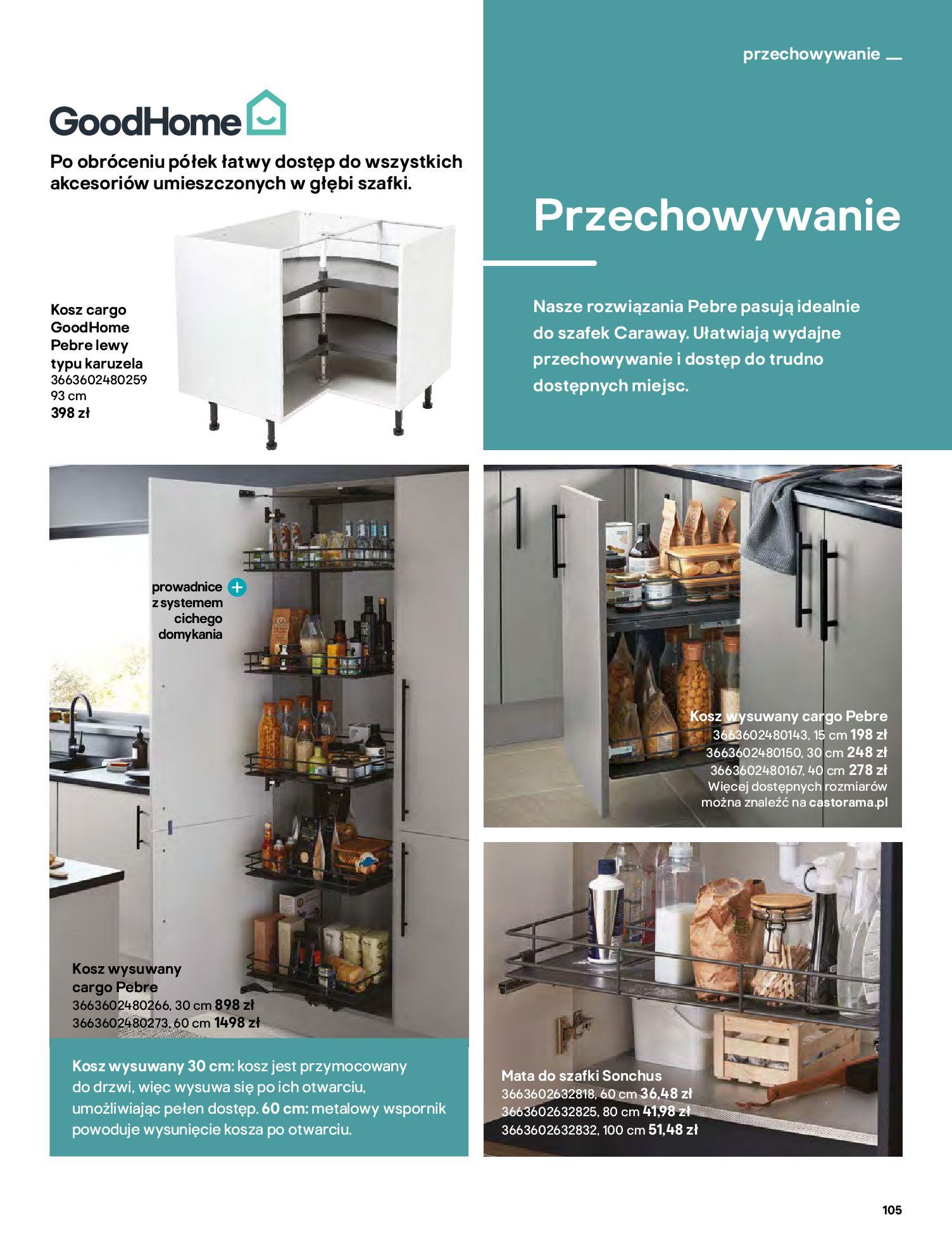 Gazetka Castorama: Katalog kuchnie 2021 2021-05-04 page-105