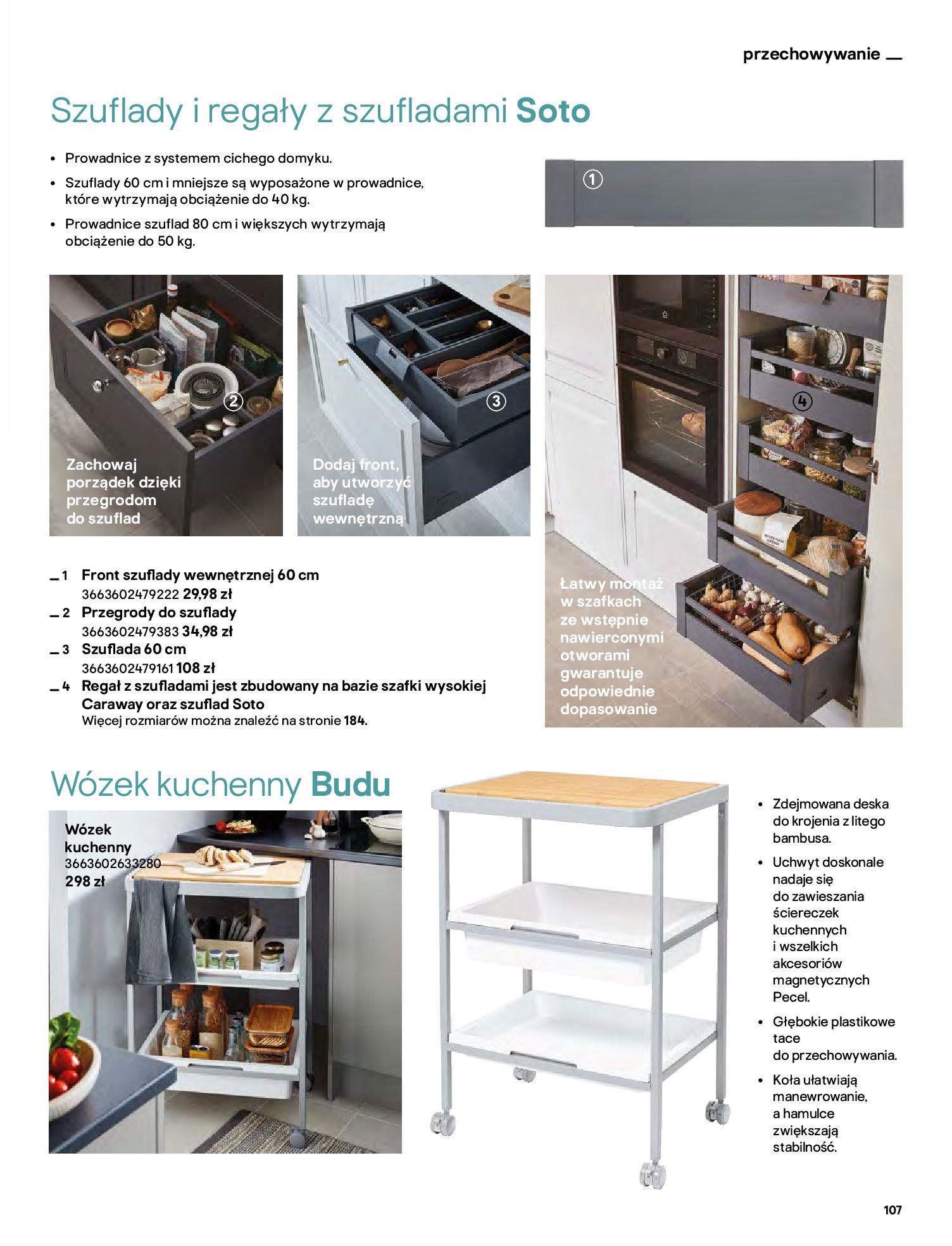Gazetka Castorama: Katalog kuchnie 2021 2021-05-04 page-107