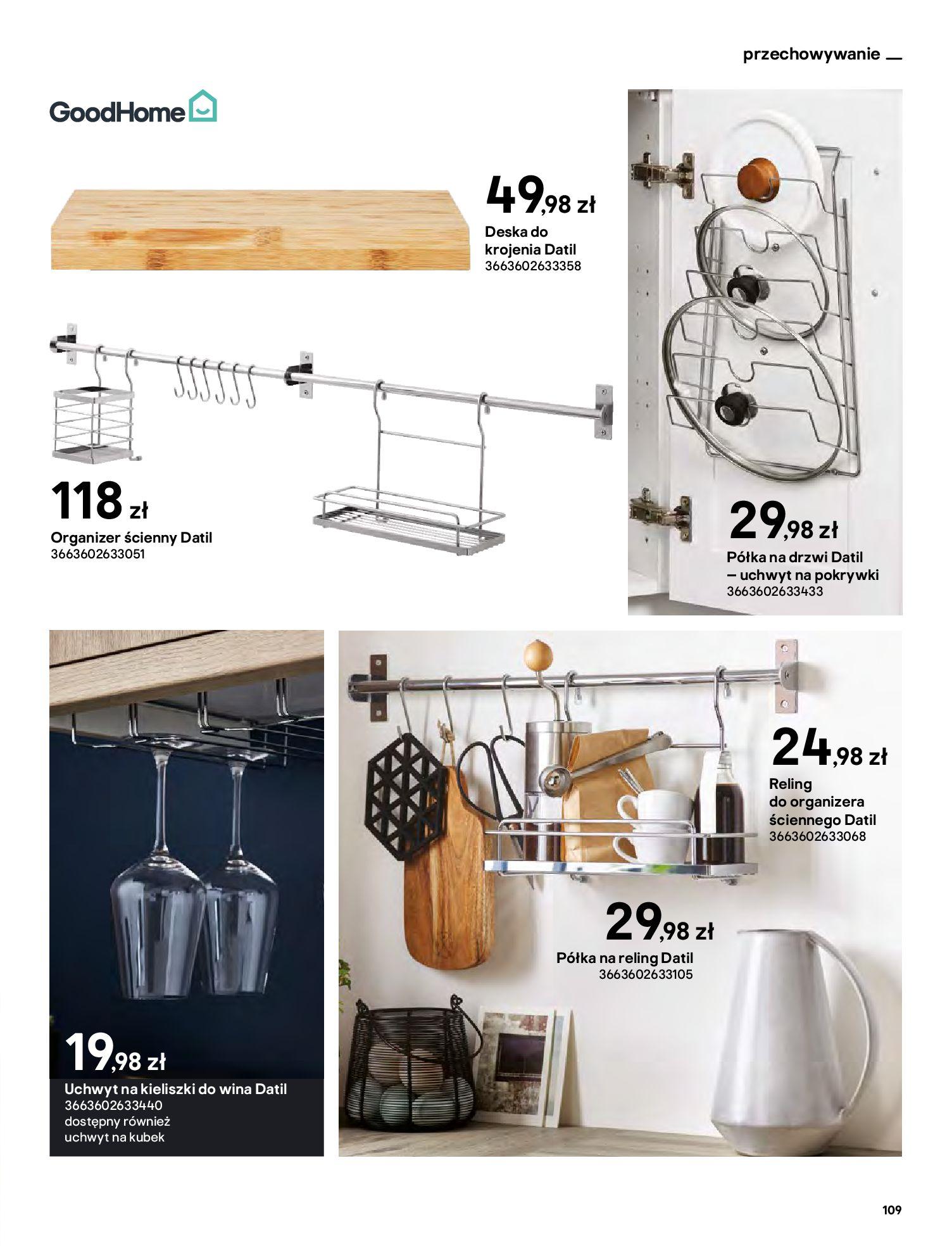Gazetka Castorama: Katalog kuchnie 2021 2021-05-04 page-109