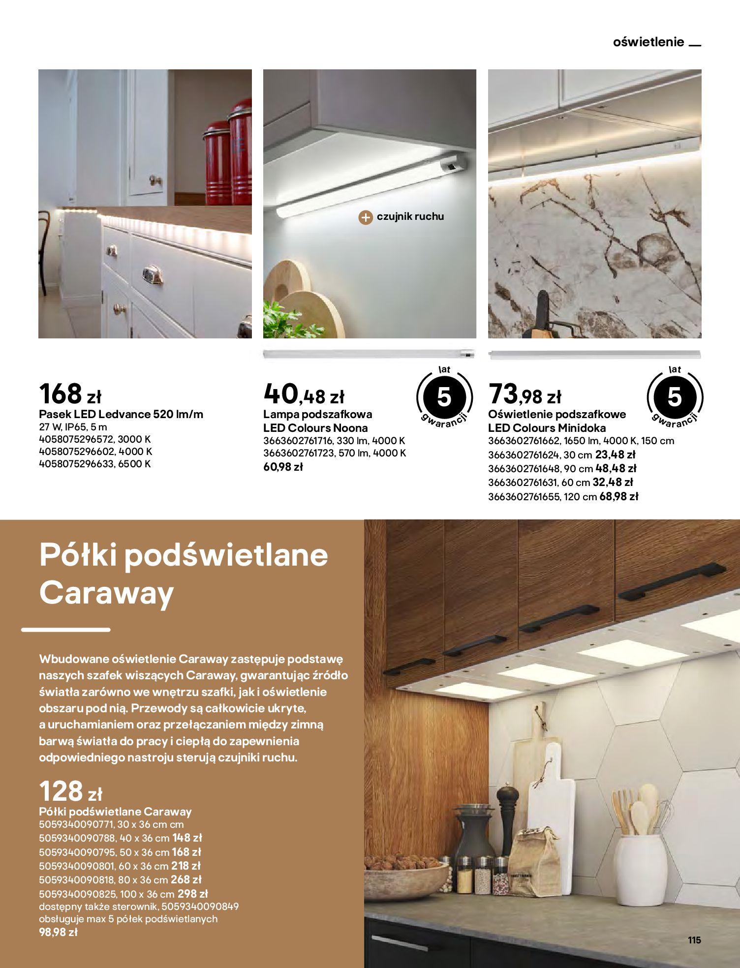 Gazetka Castorama: Katalog kuchnie 2021 2021-05-04 page-115
