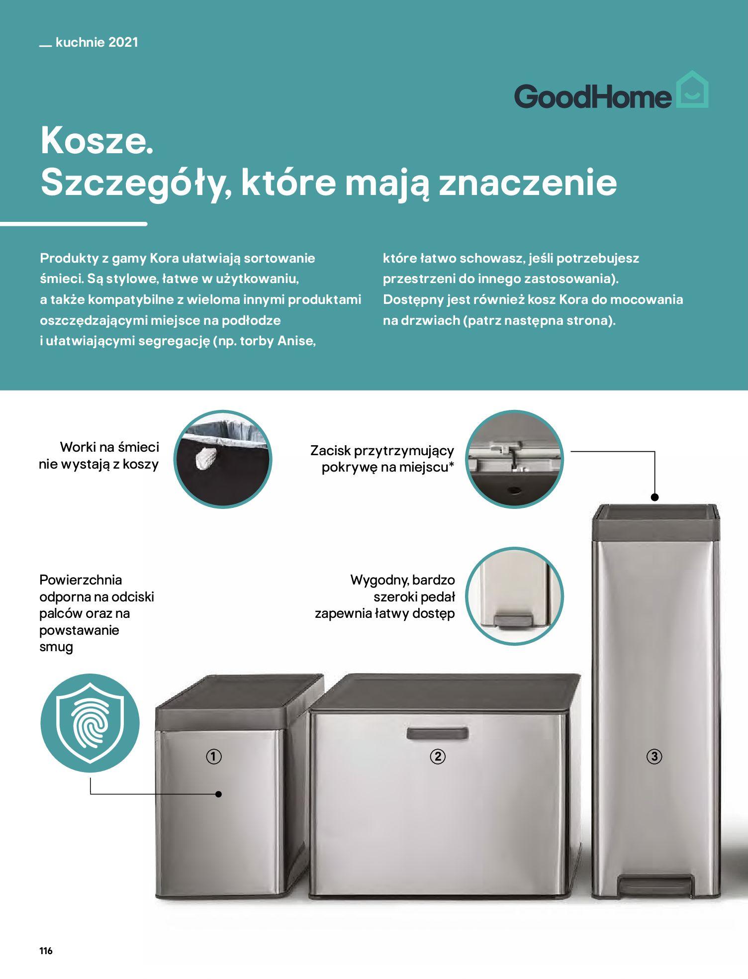 Gazetka Castorama: Katalog kuchnie 2021 2021-05-04 page-116