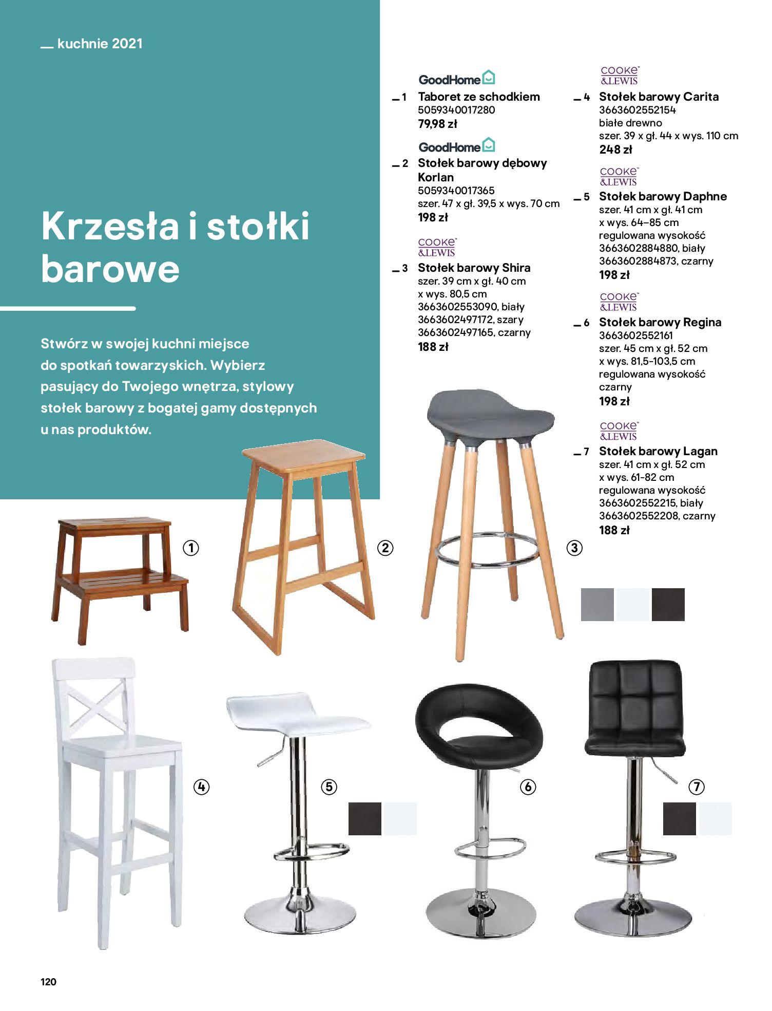 Gazetka Castorama: Katalog kuchnie 2021 2021-05-04 page-120